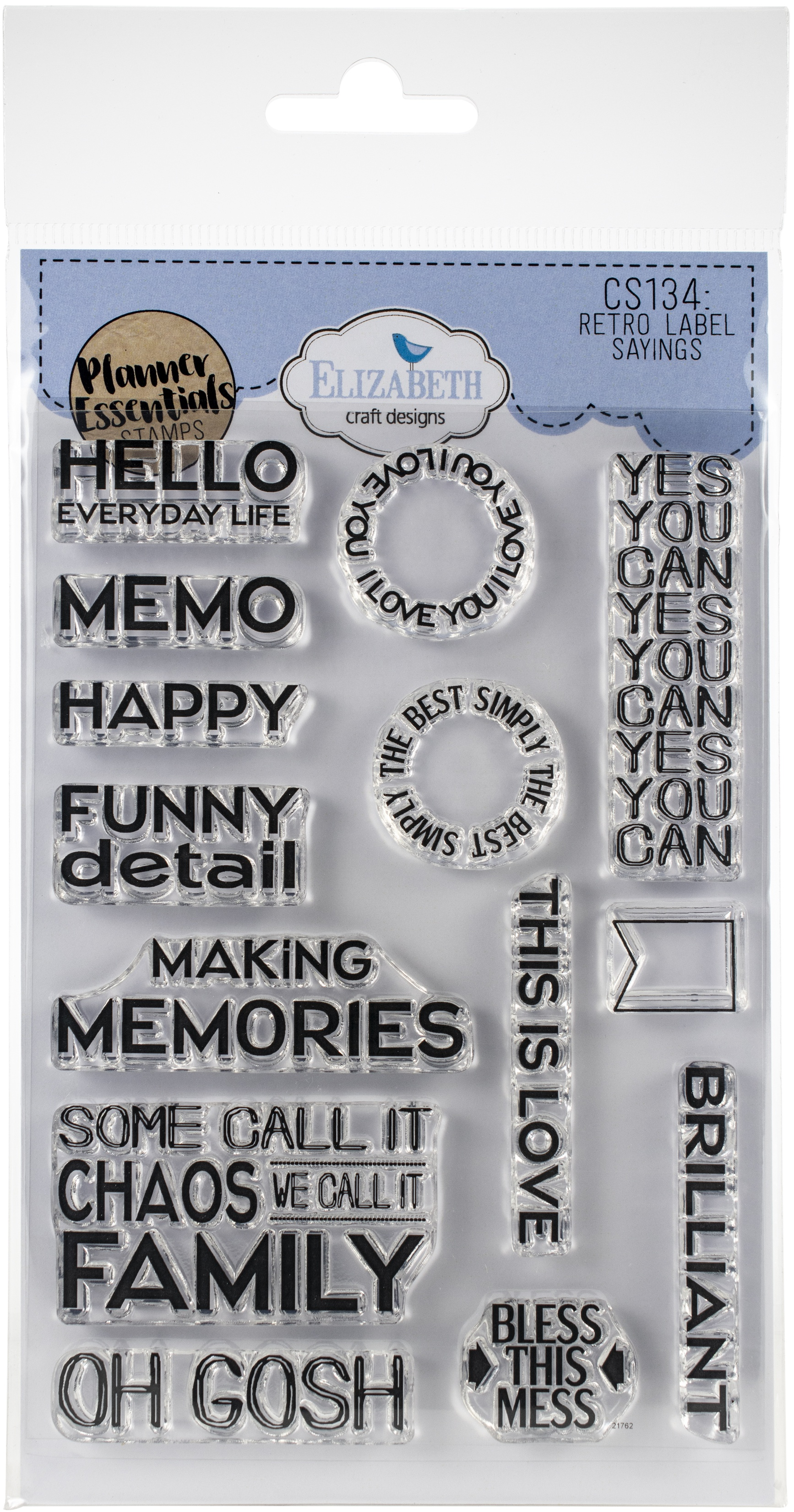 EC - Retro Sayings Stamp Set
