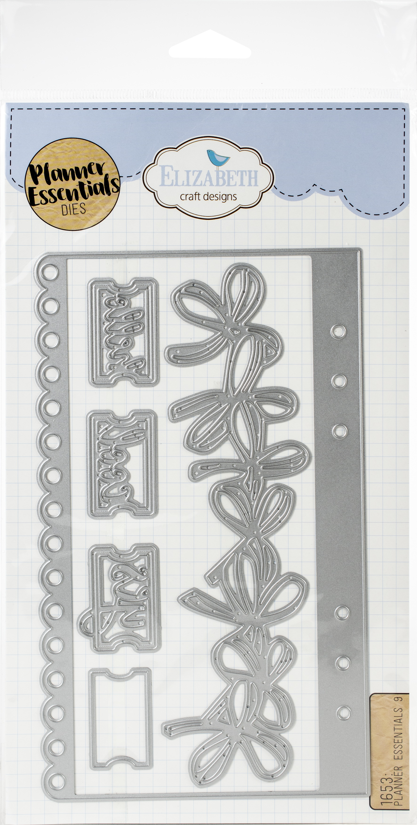 Elizabeth Craft Metal Die-Planner Essentials 9