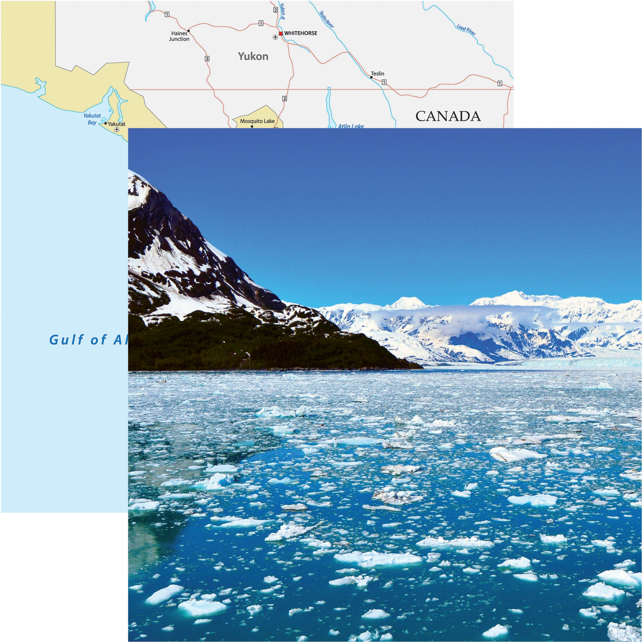 Alaska Cruise Double-Sided Cardstock 12X12-Icy Waters