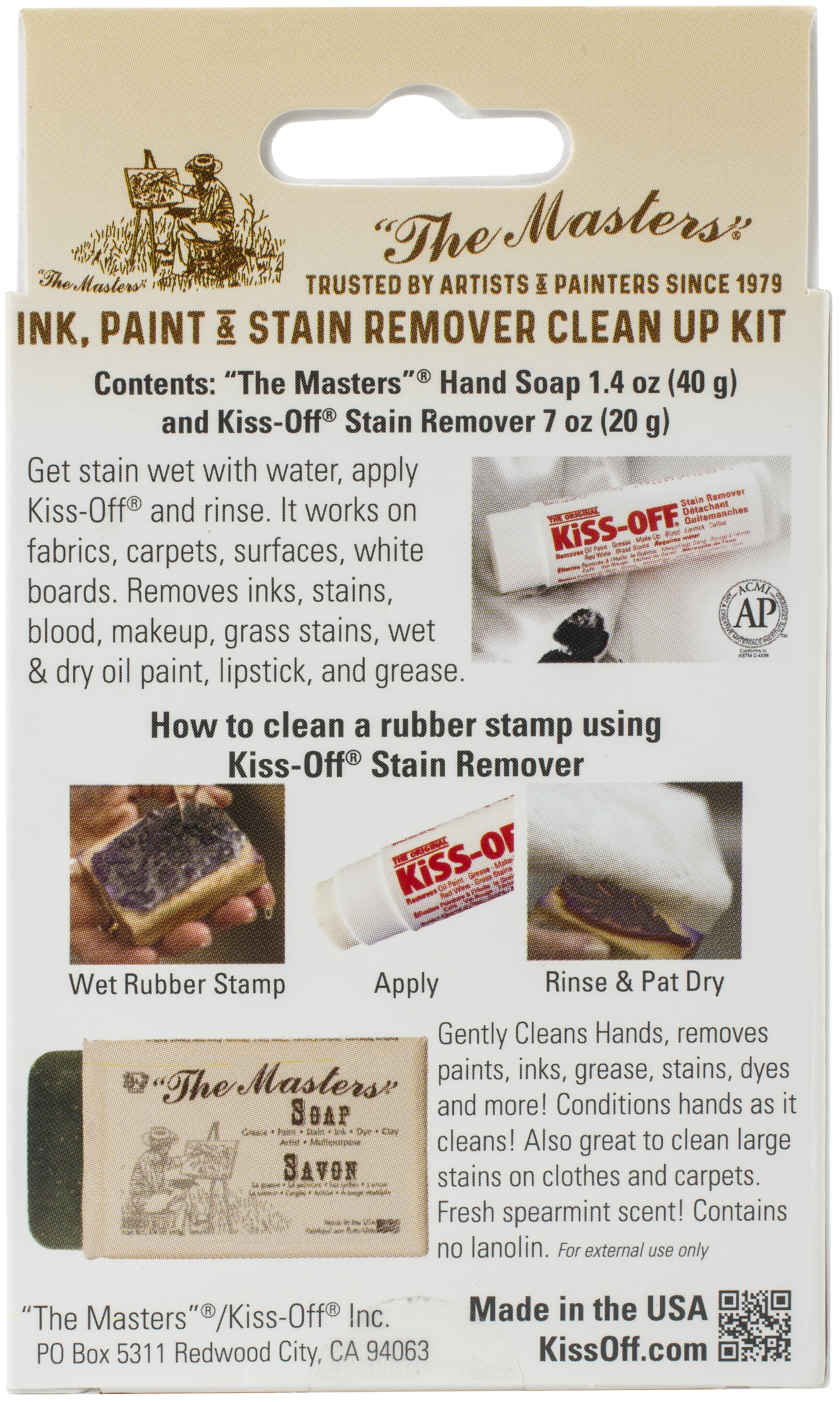 MASTERS KISS-OFF CLEAN UP KIT