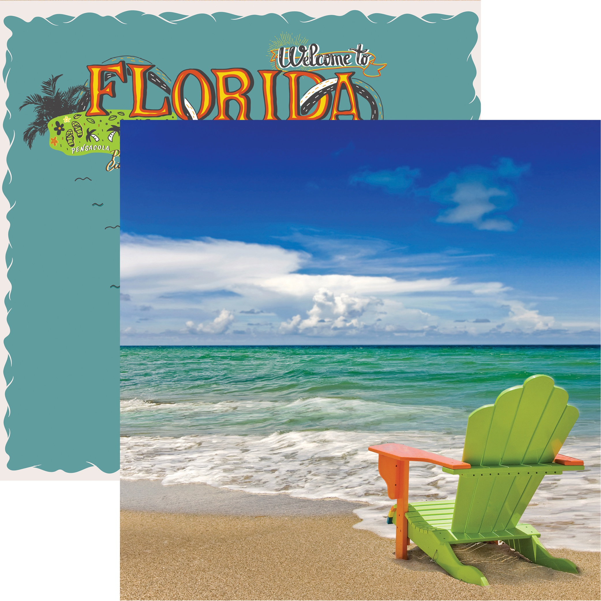 REM Florida Toes in the Sand