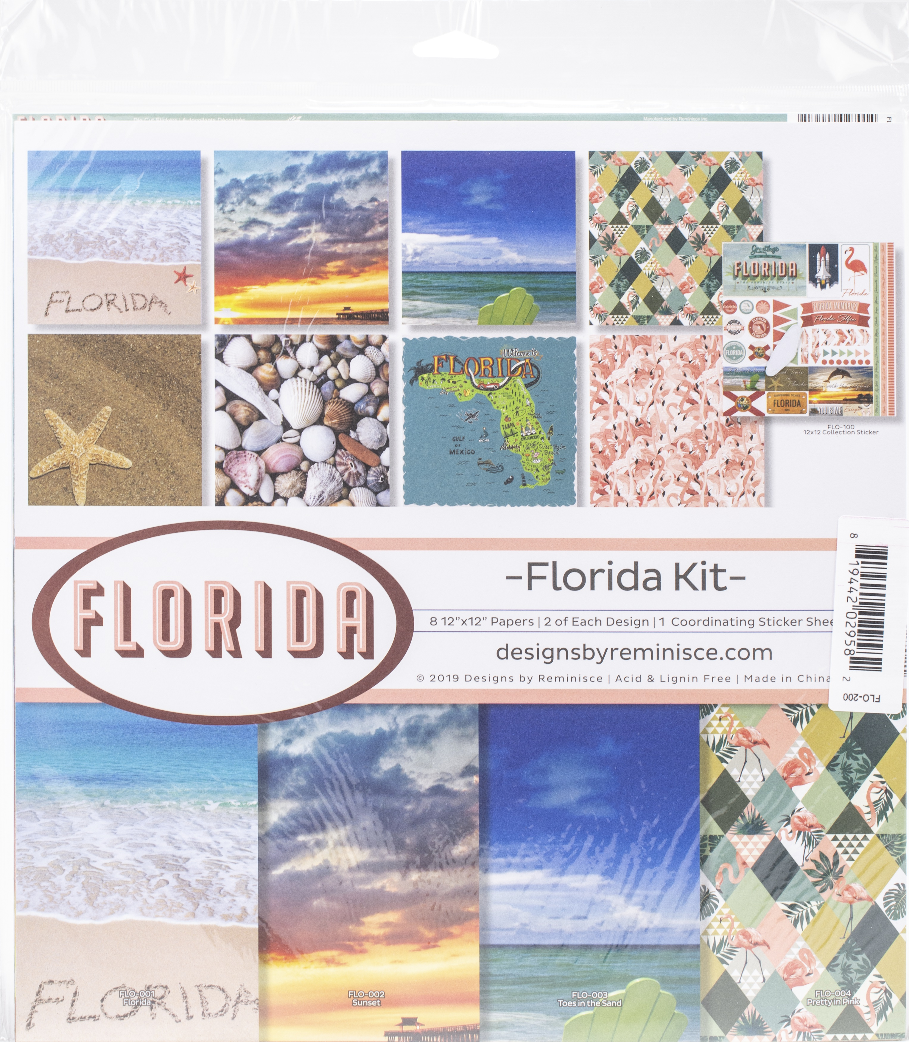 Reminisce Collection Kit 12X12-Florida