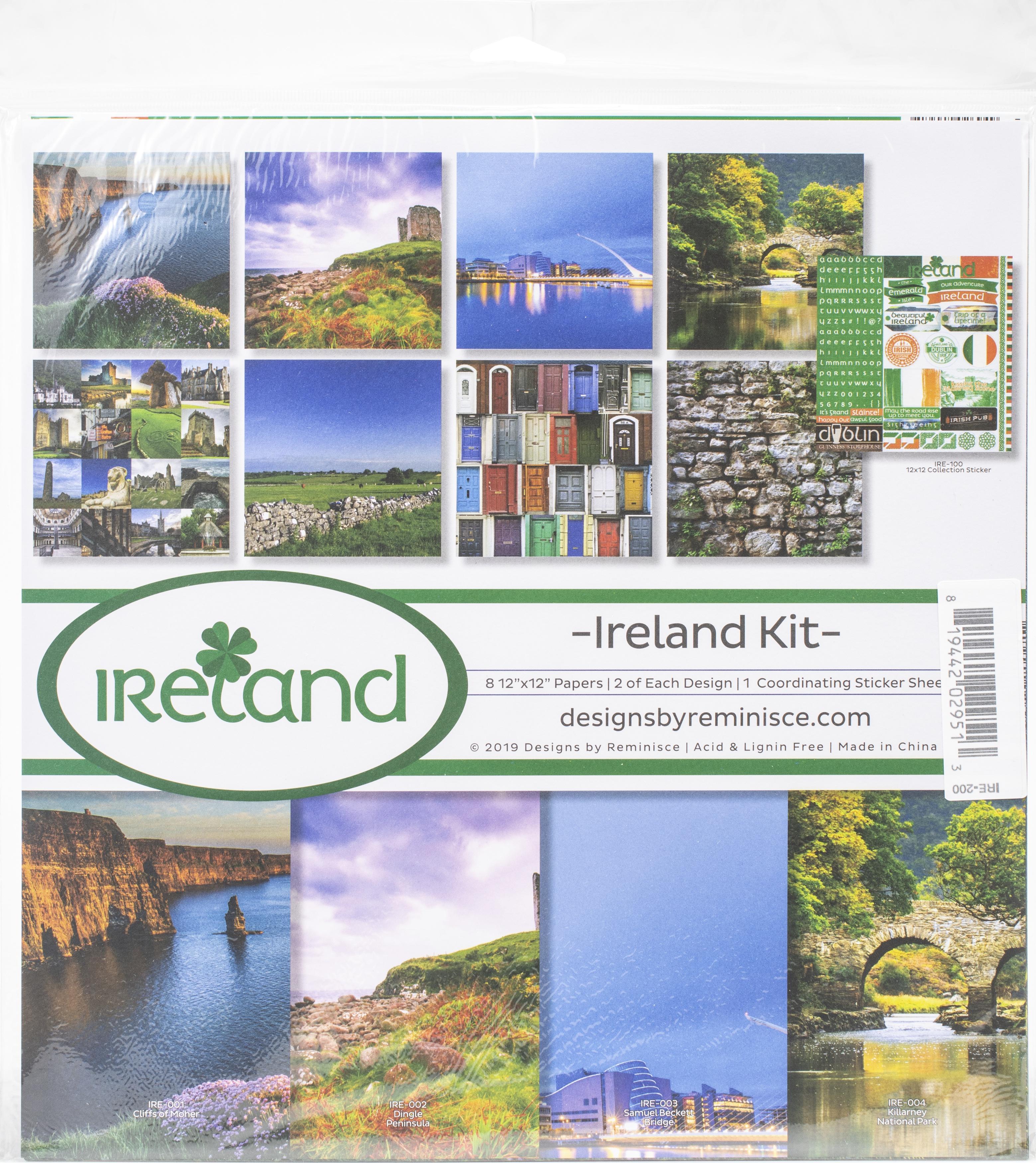 Reminisce Collection Kit 12X12 - Ireland