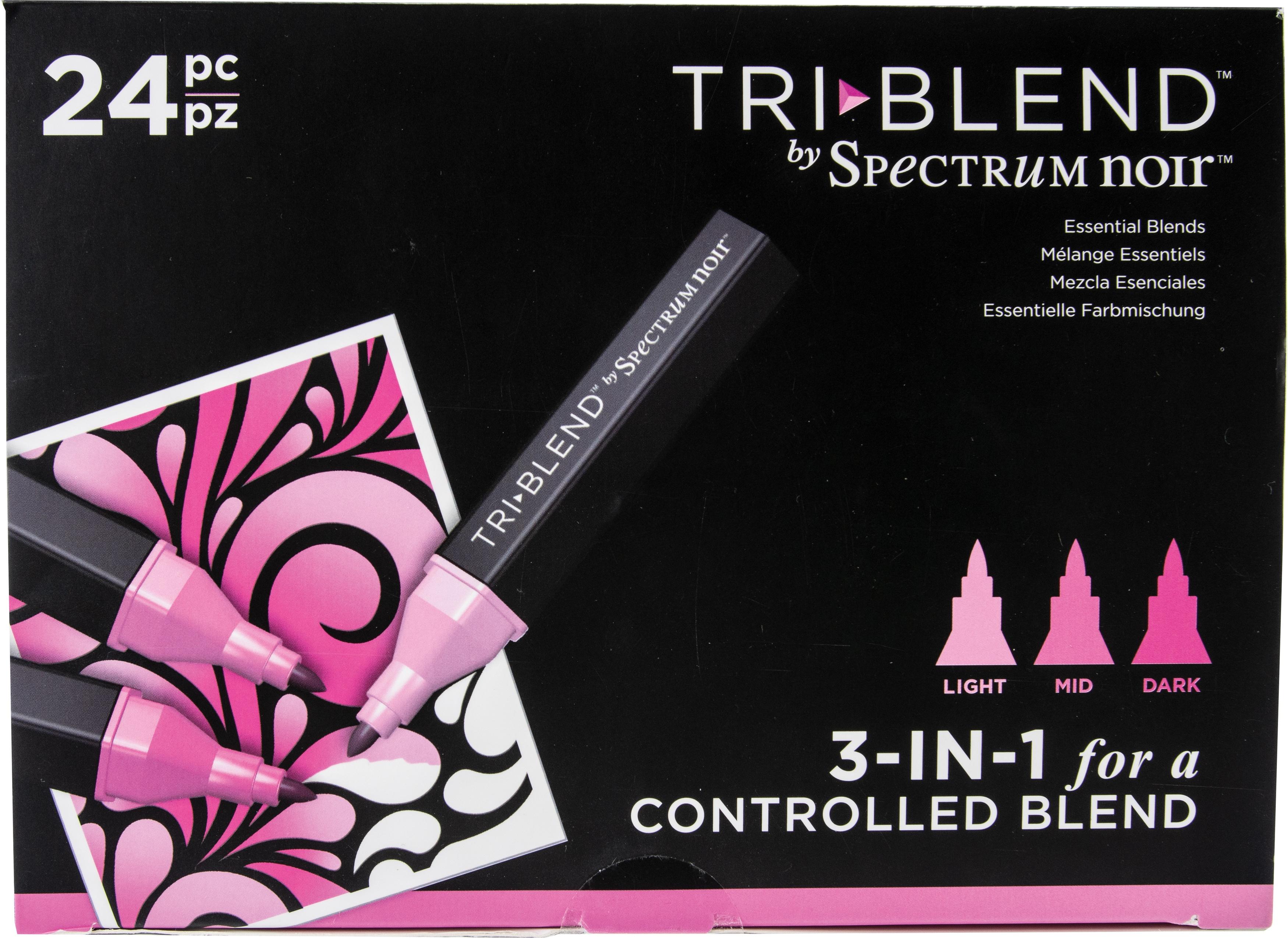Spectrum Noir Triblend Markers 24/Pkg-