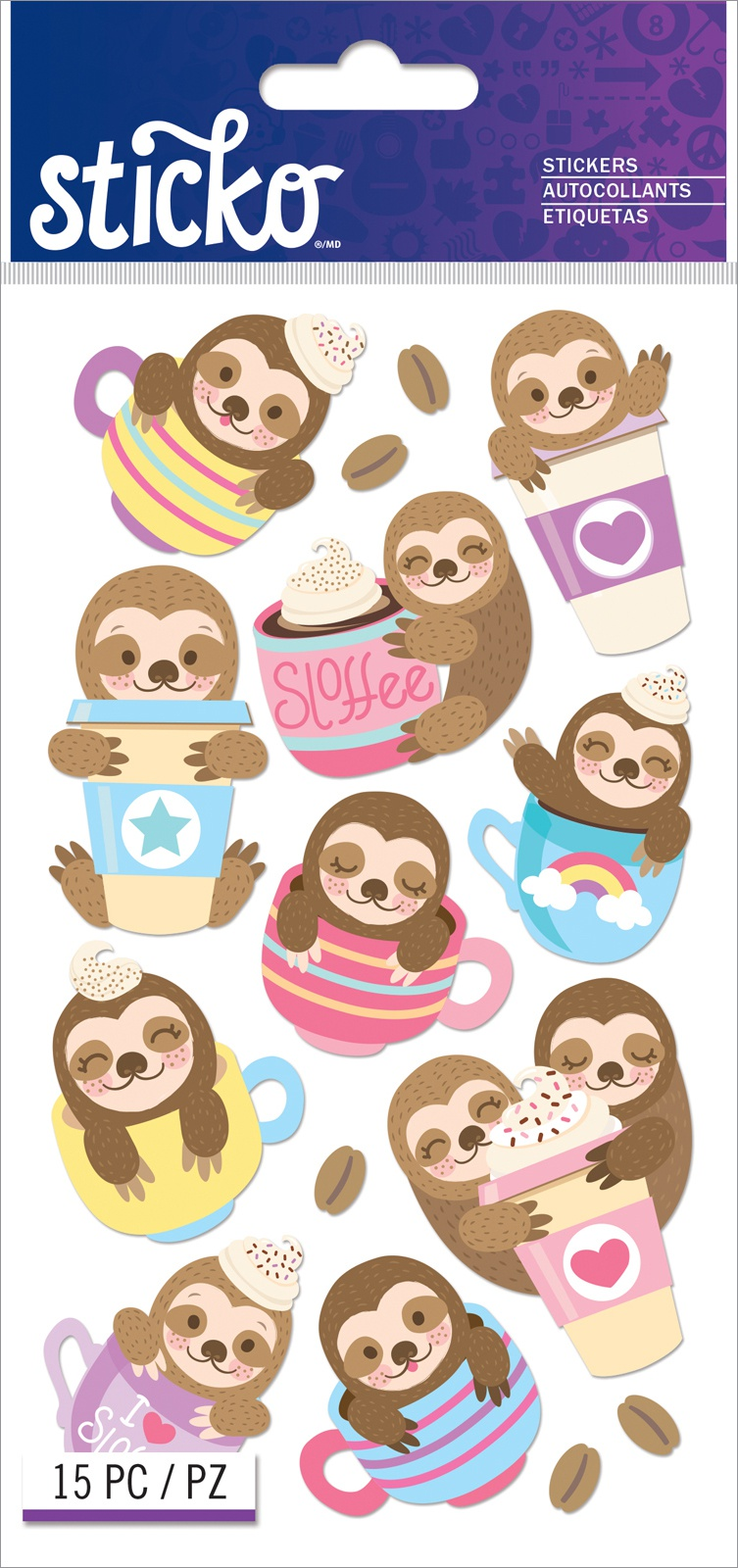 Sticko Classic Stickers-Sloffee