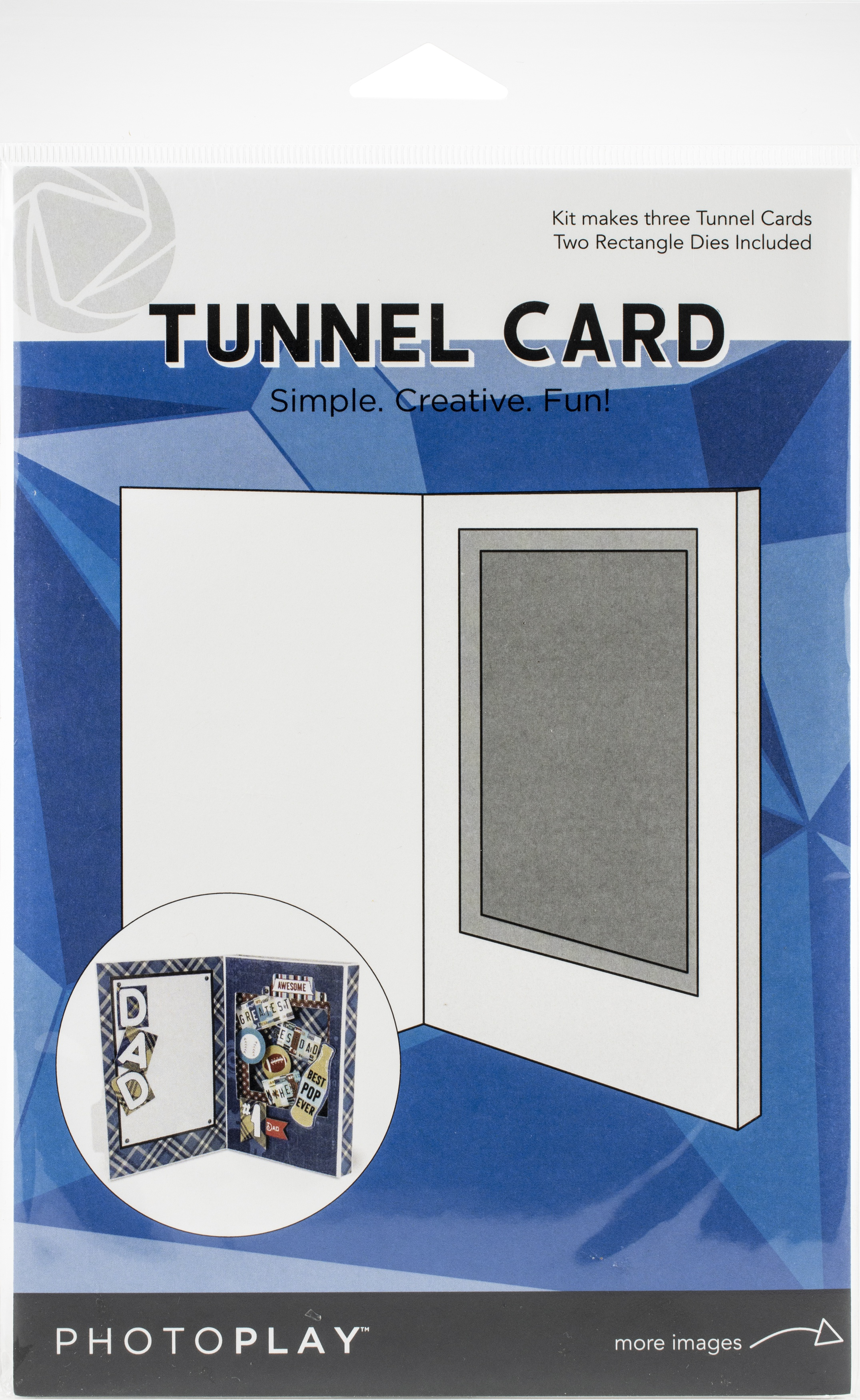 Tunnel Card w/ Rectangle Dies