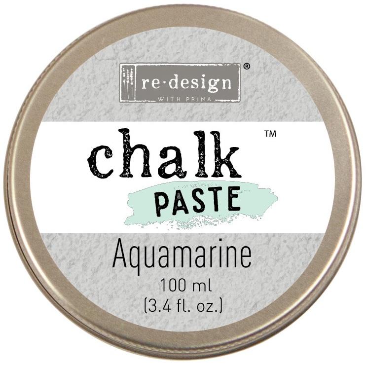 Prima Re-Design Chalk Paste 100ml-Aquamarine