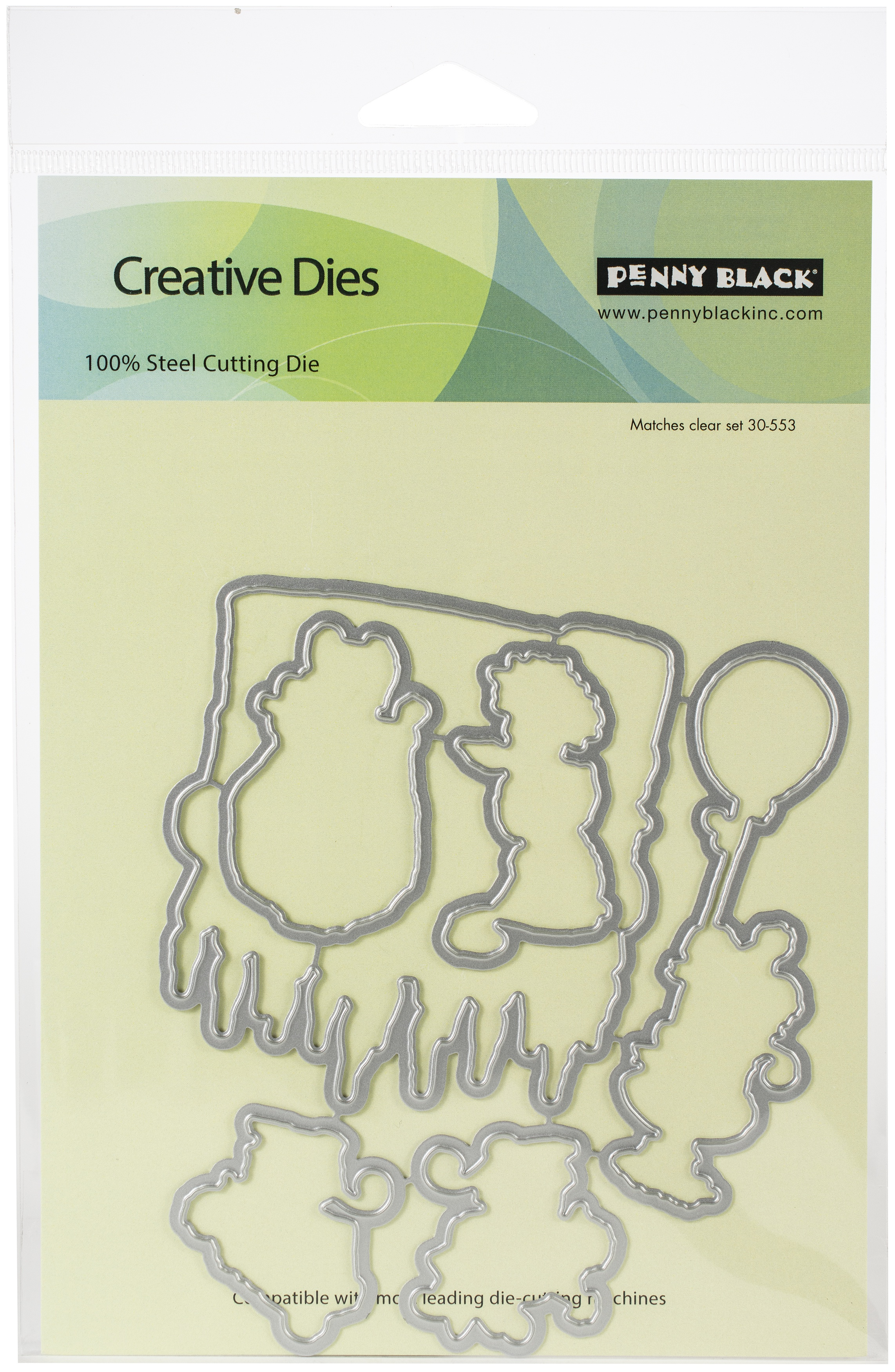 Penny Black Creative Dies-It's Your Day 5.1X4.5