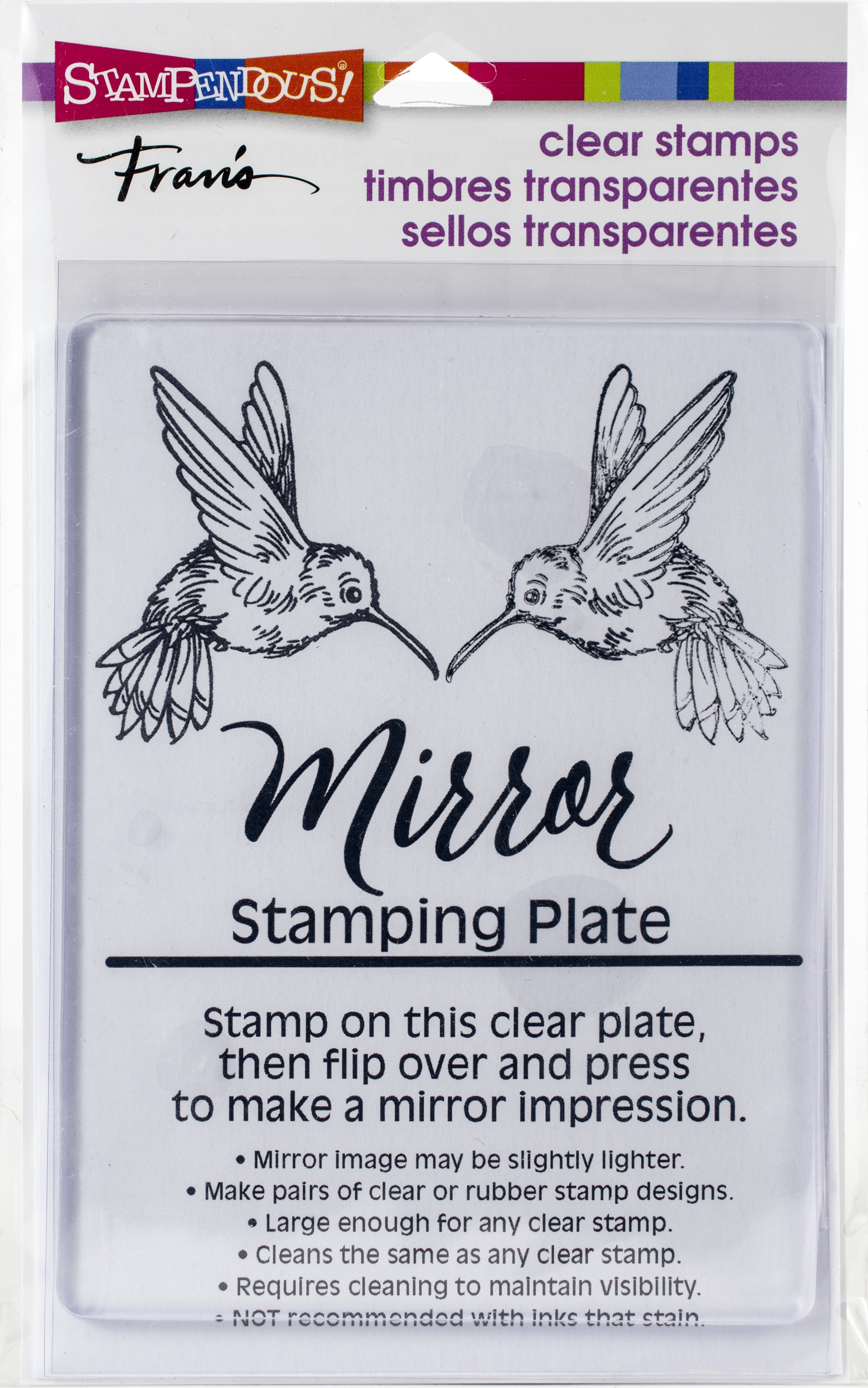 Stampendous Mirror Stamping Plate 4X5.5-