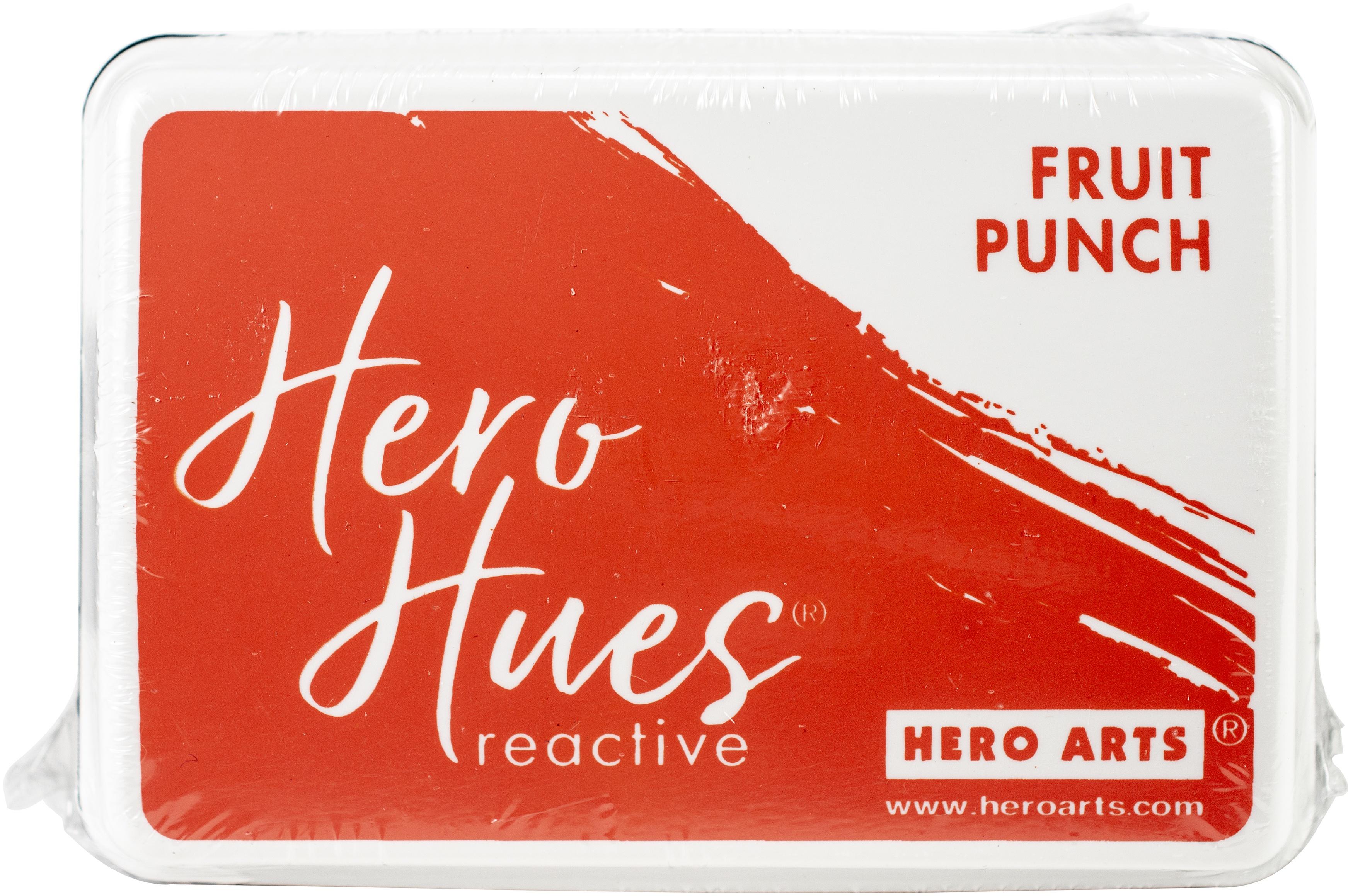 Hero Hues Reactive Ink Pad-Fruit Punch
