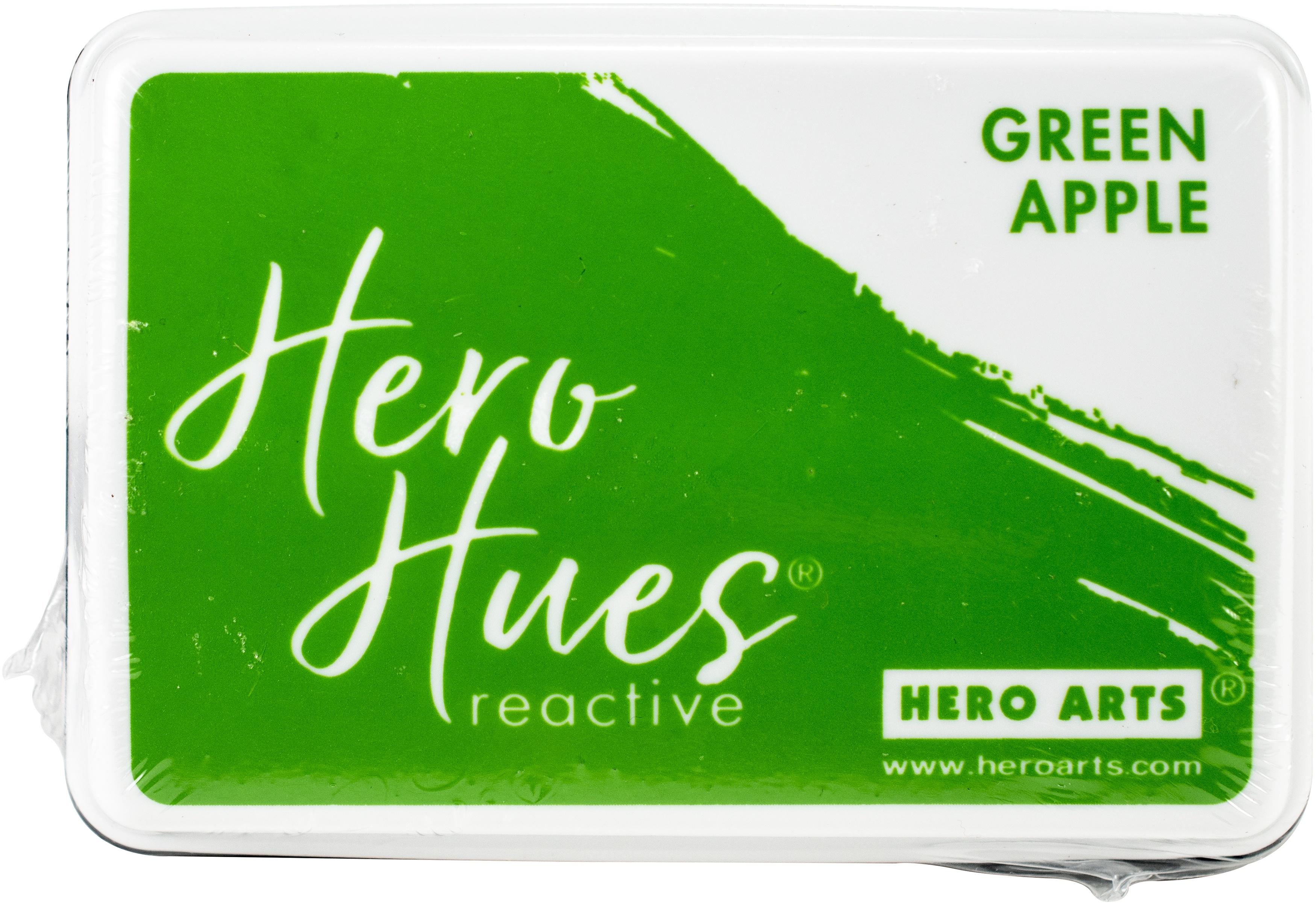 Hero Hues Reactive Ink Pad-Green Apple
