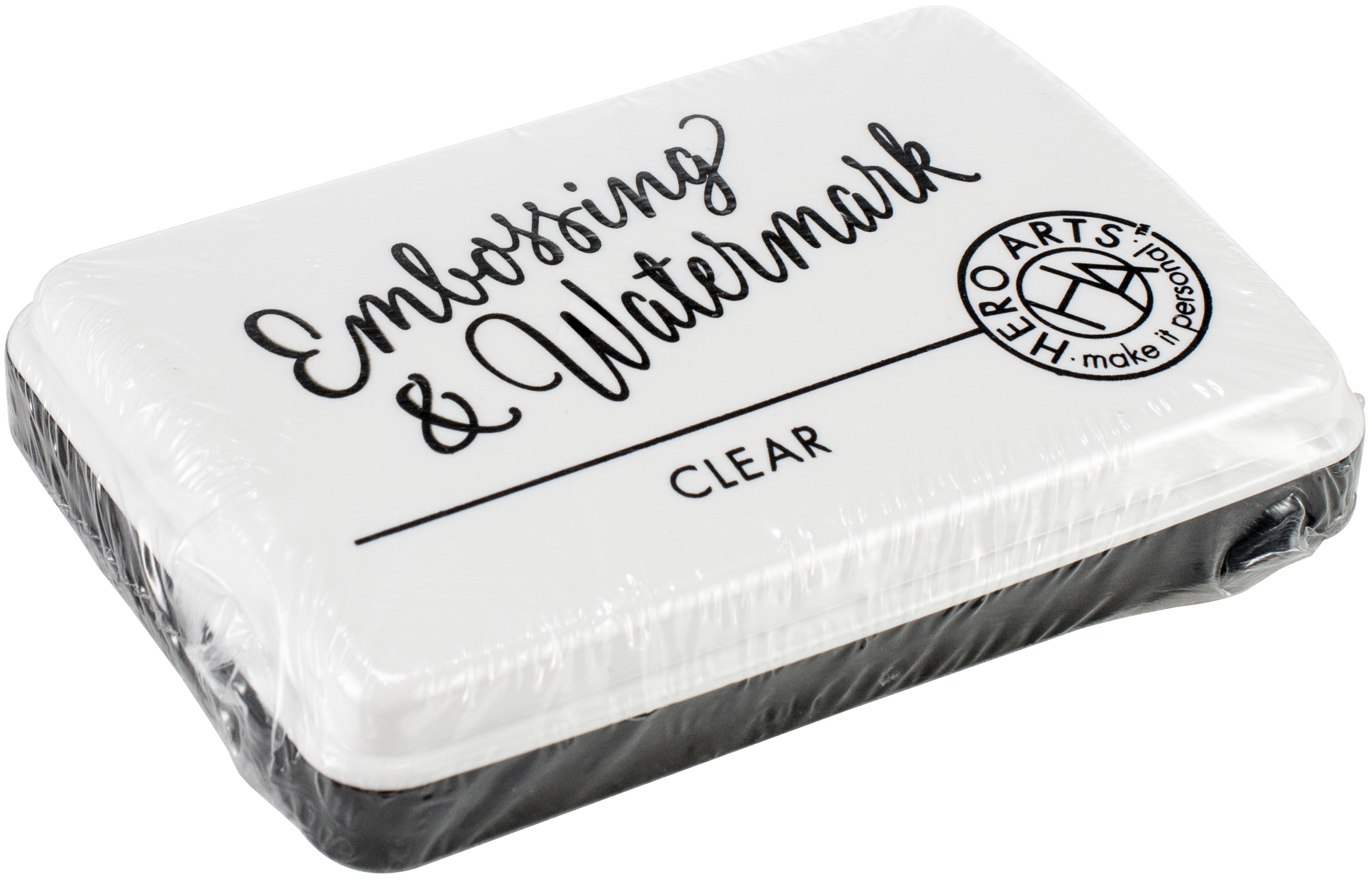 Clear Embossing & Watermark Ink Pad
