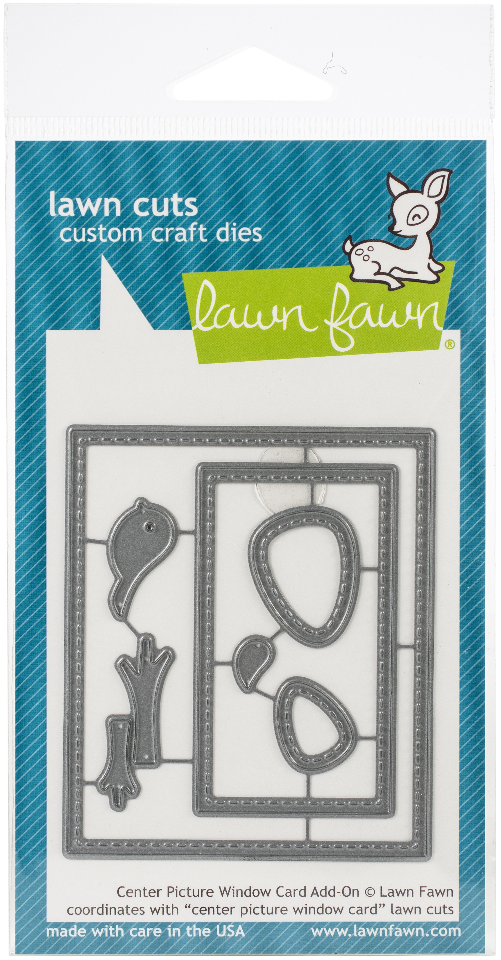 Lawn Cuts Custom Craft Die-Center Picture Window Card Add-On