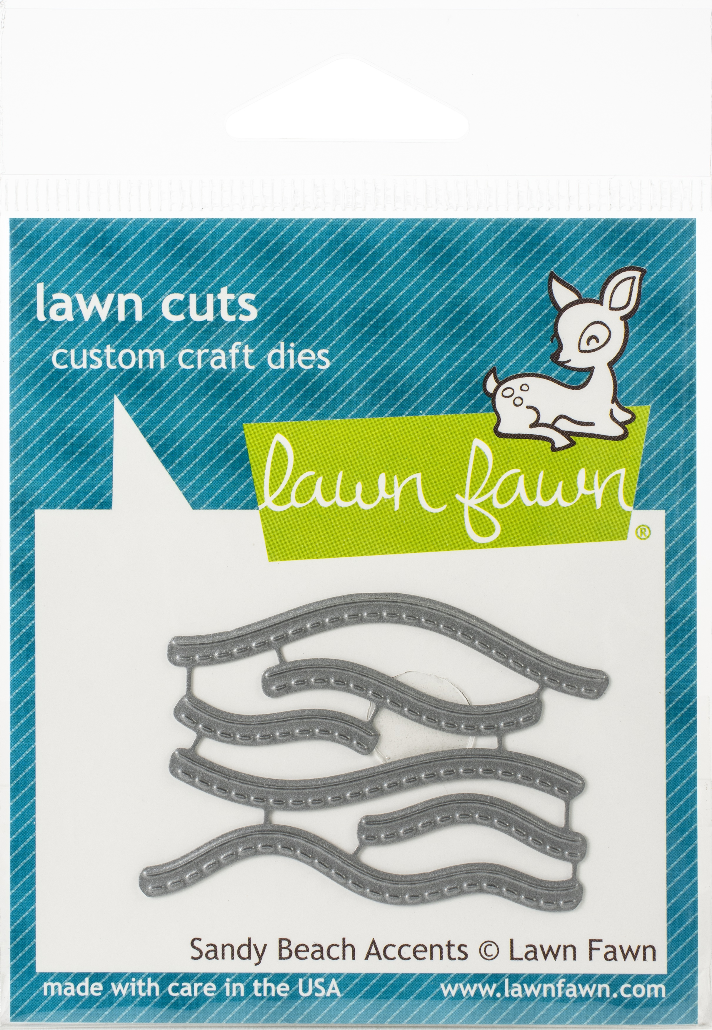 Lawn Cuts Custom Craft Die-Sandy Beach Accents