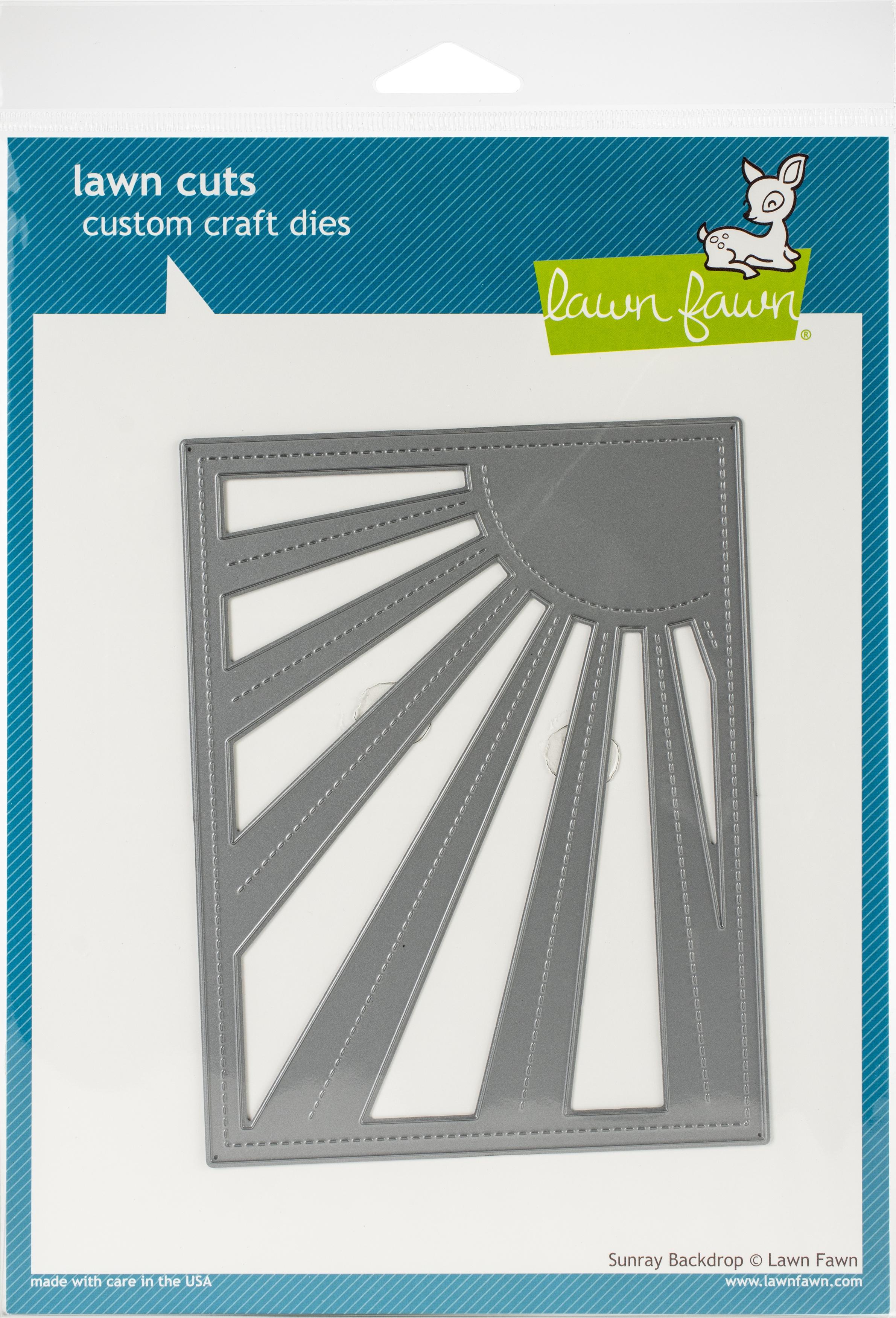 Lawn Cuts Custom Craft Die-Sunray Backdrop