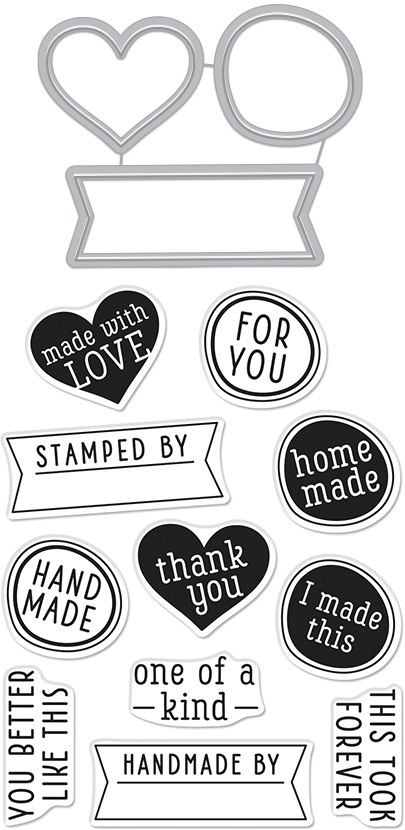 Hero Arts Stamp & Cut-One Of A Kind