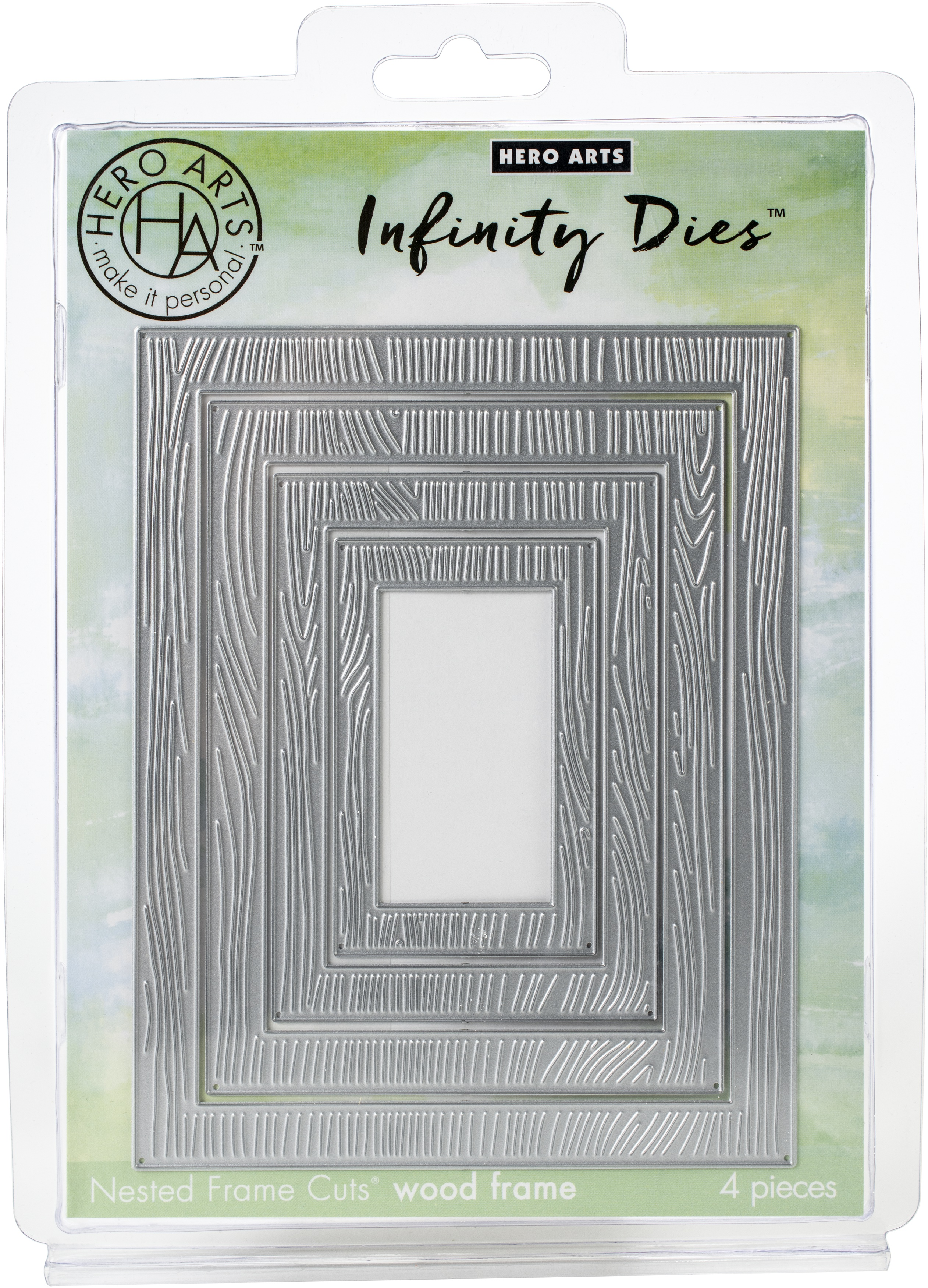 Hero Arts Infinity Dies-Wood Frame