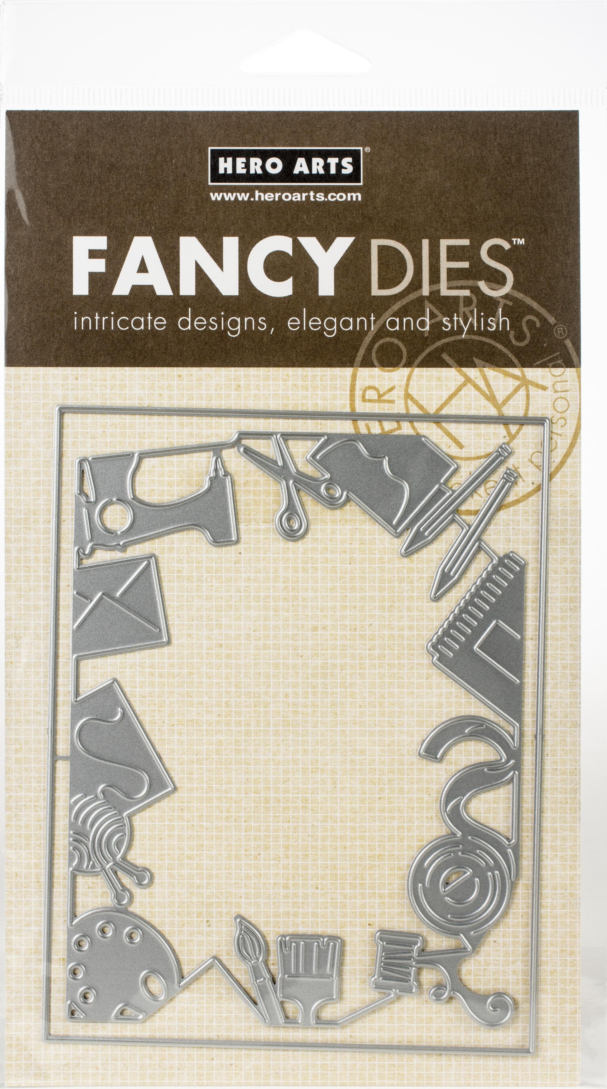 Hero Arts Fancy Dies-Crafting Border W/Frame