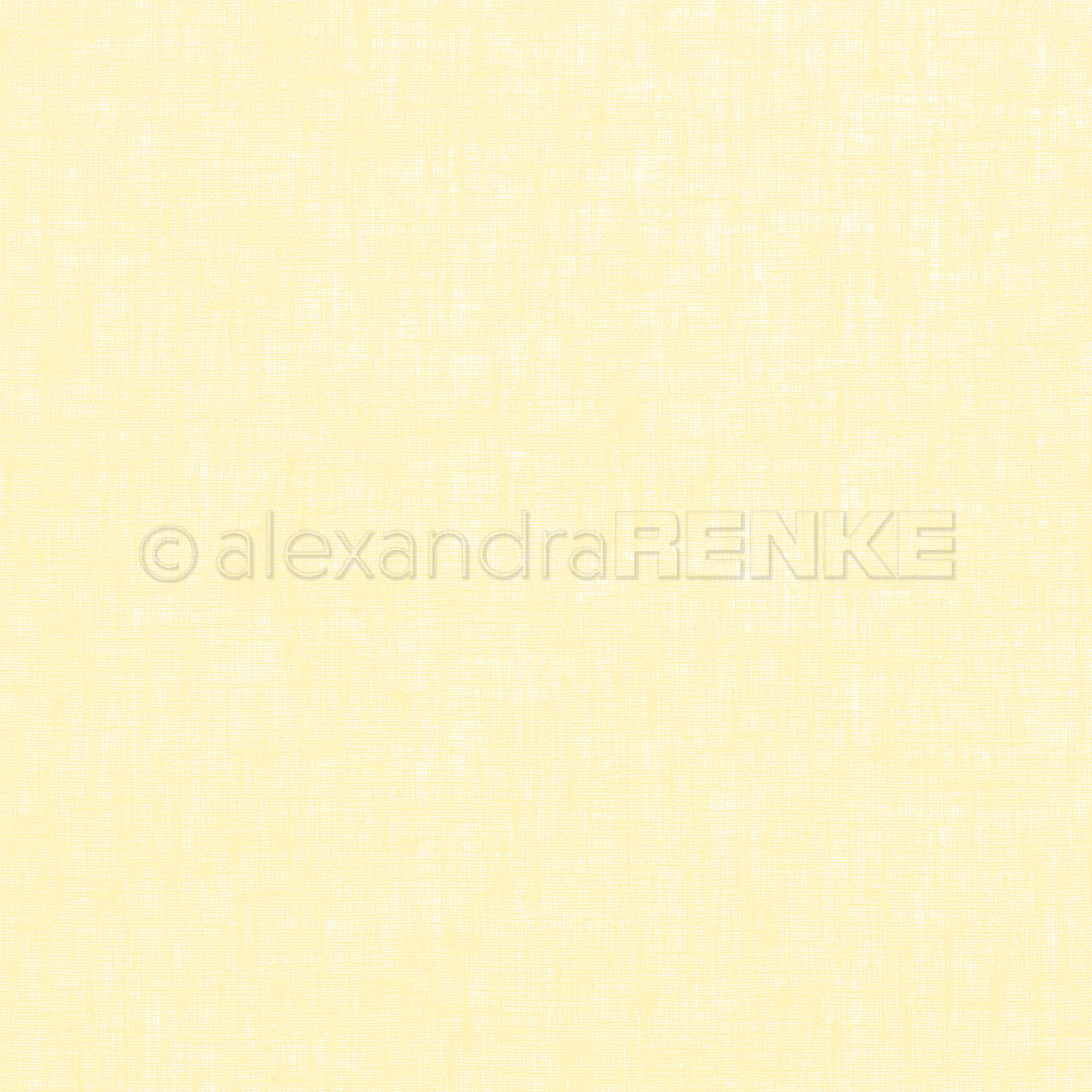Alexandra Renke cooking cardstock 12X12 - Linen Lemon
