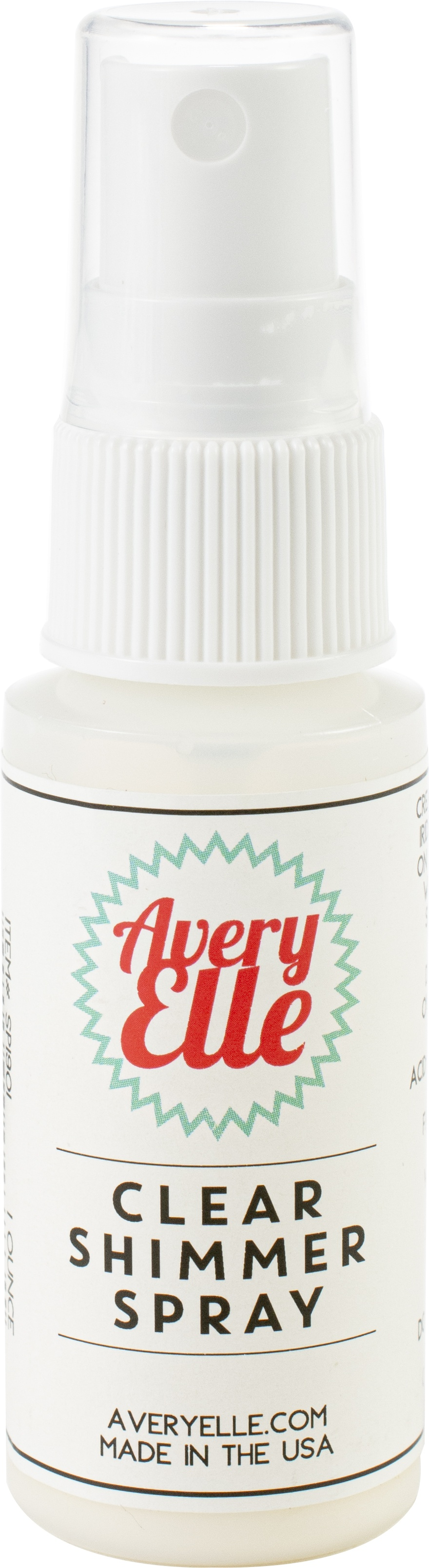 Avery Elle Shimmer Spray-Clear