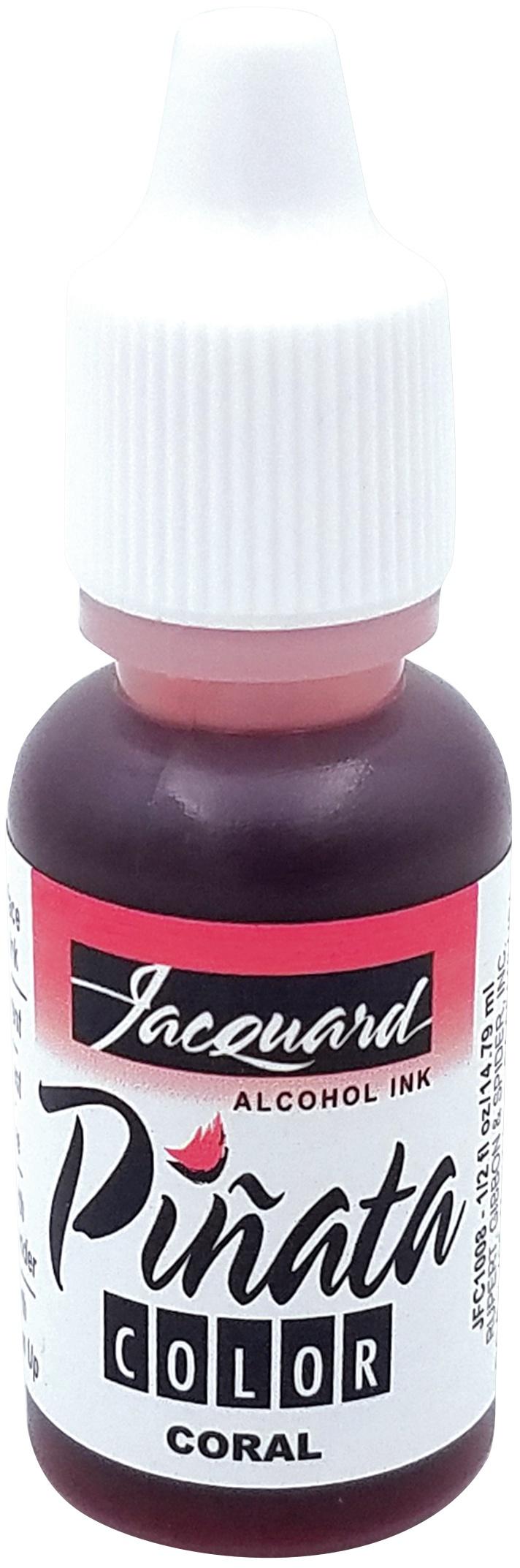 Jacquard Pinata Color Alcohol Ink .5oz-Coral