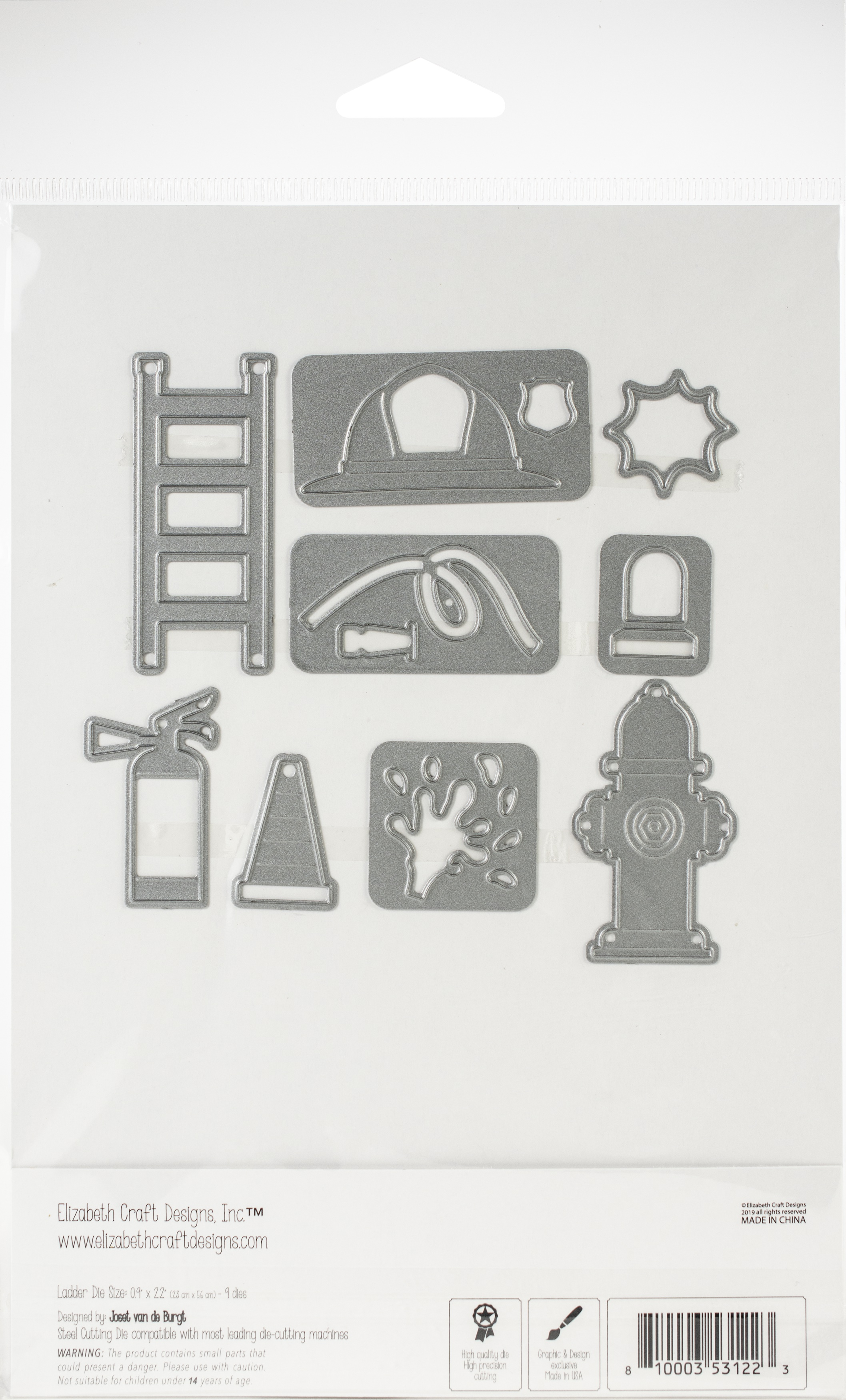 Elizabeth Craft Metal Die-Fire Accessories