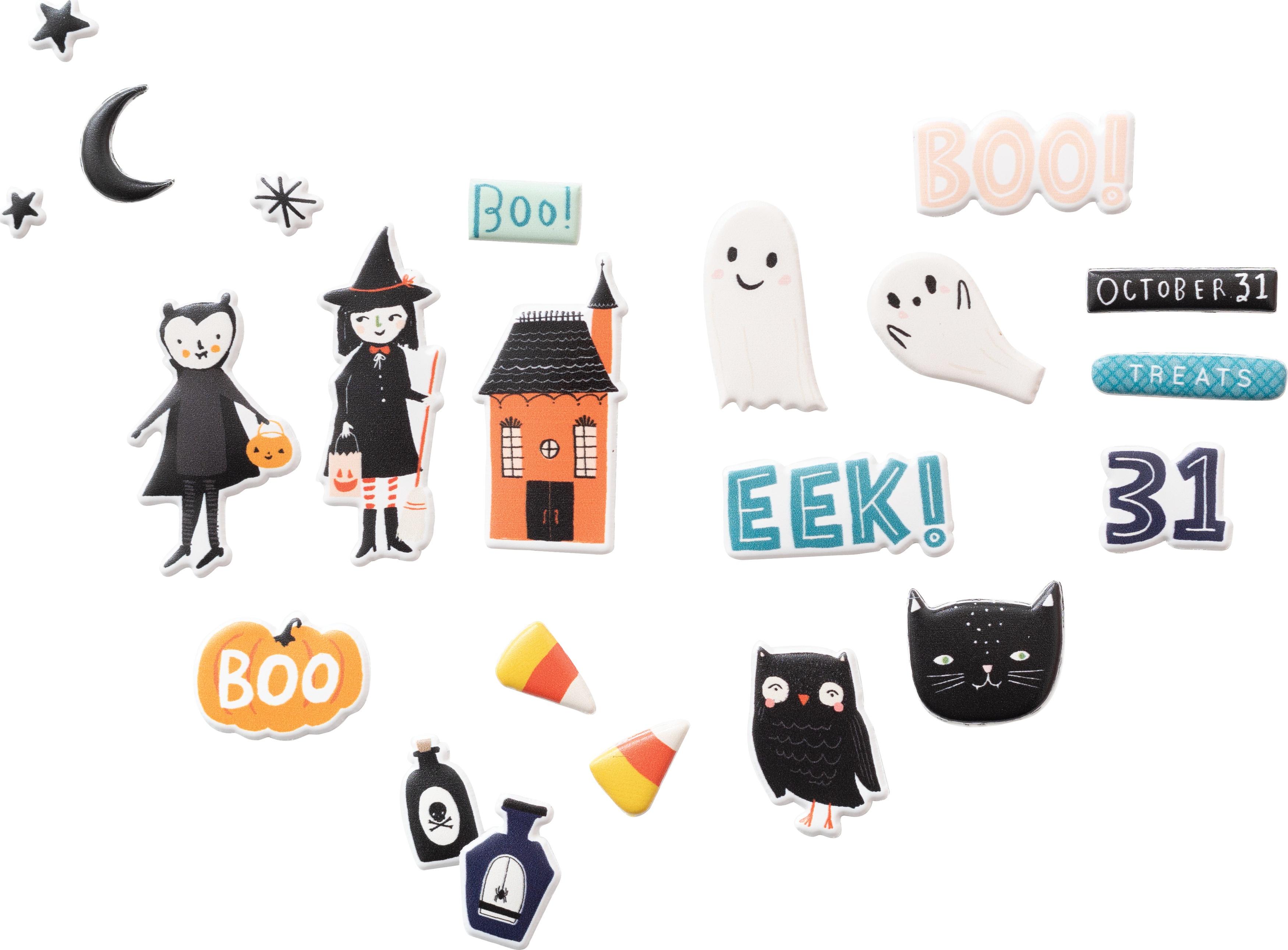 Hey, Pumpkin Puffy Stickers 55/Pkg-