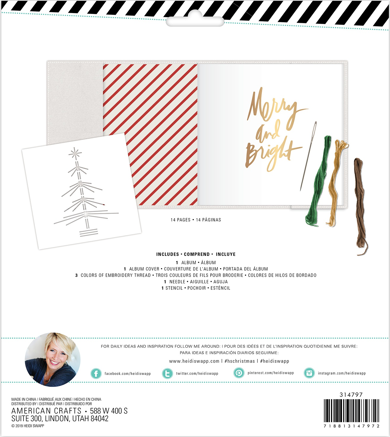 Heidi Swapp Winter Wonderland Album Kit-