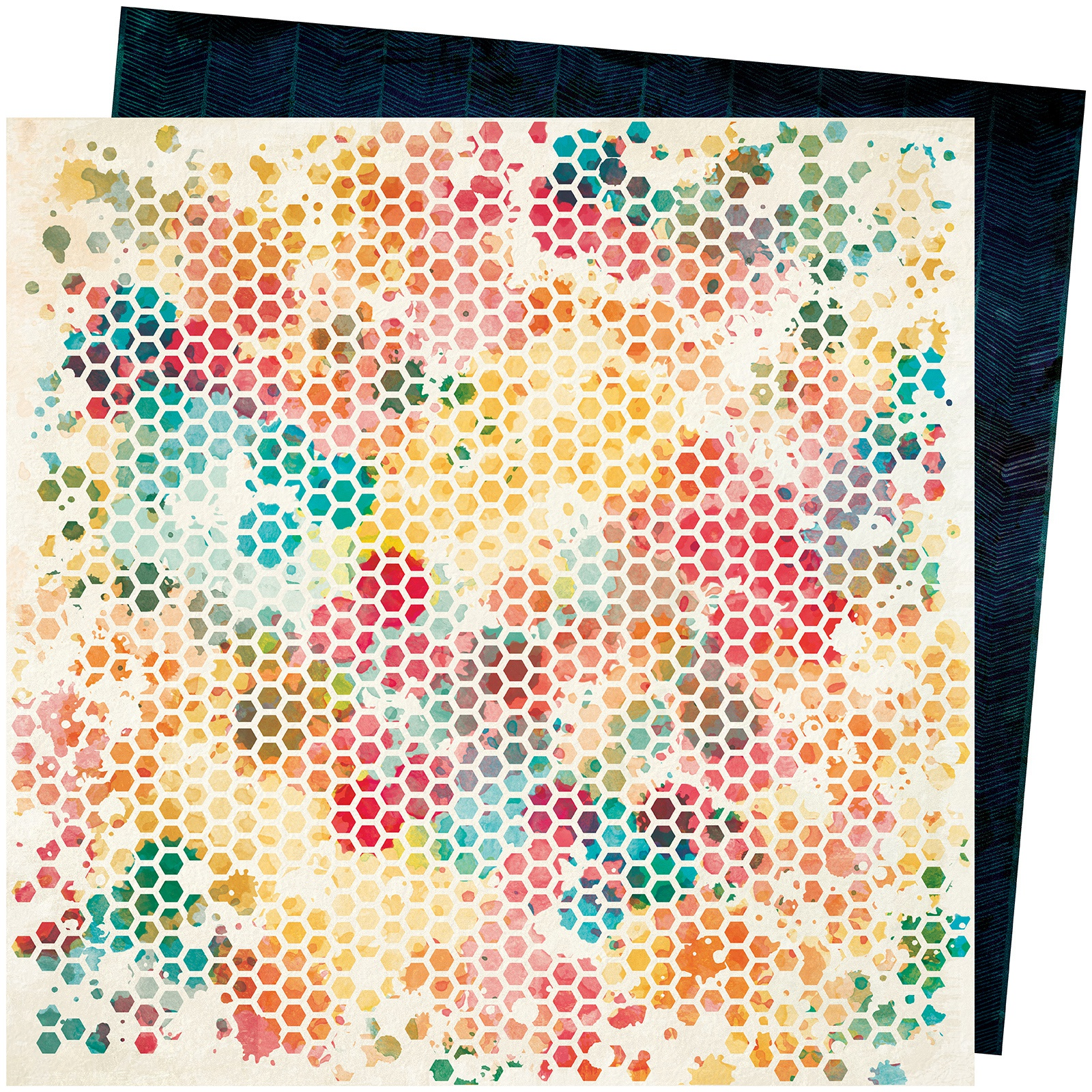 Vicki Boutin Wildflower & Honey Dbl-Sided Cardstock 12X12-Queen Bee