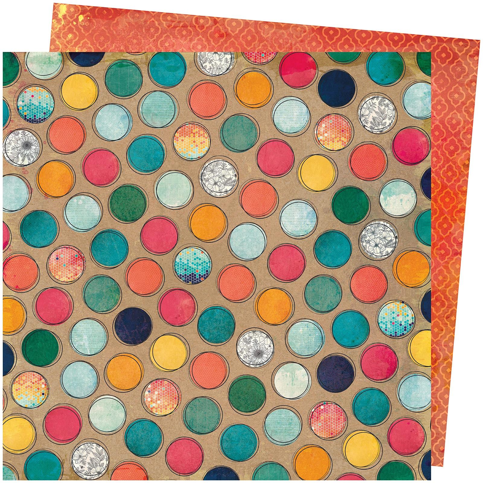 Vicki Boutin Wildflower & Honey Dbl-Sided Cardstock 12X12-Create A Buzz