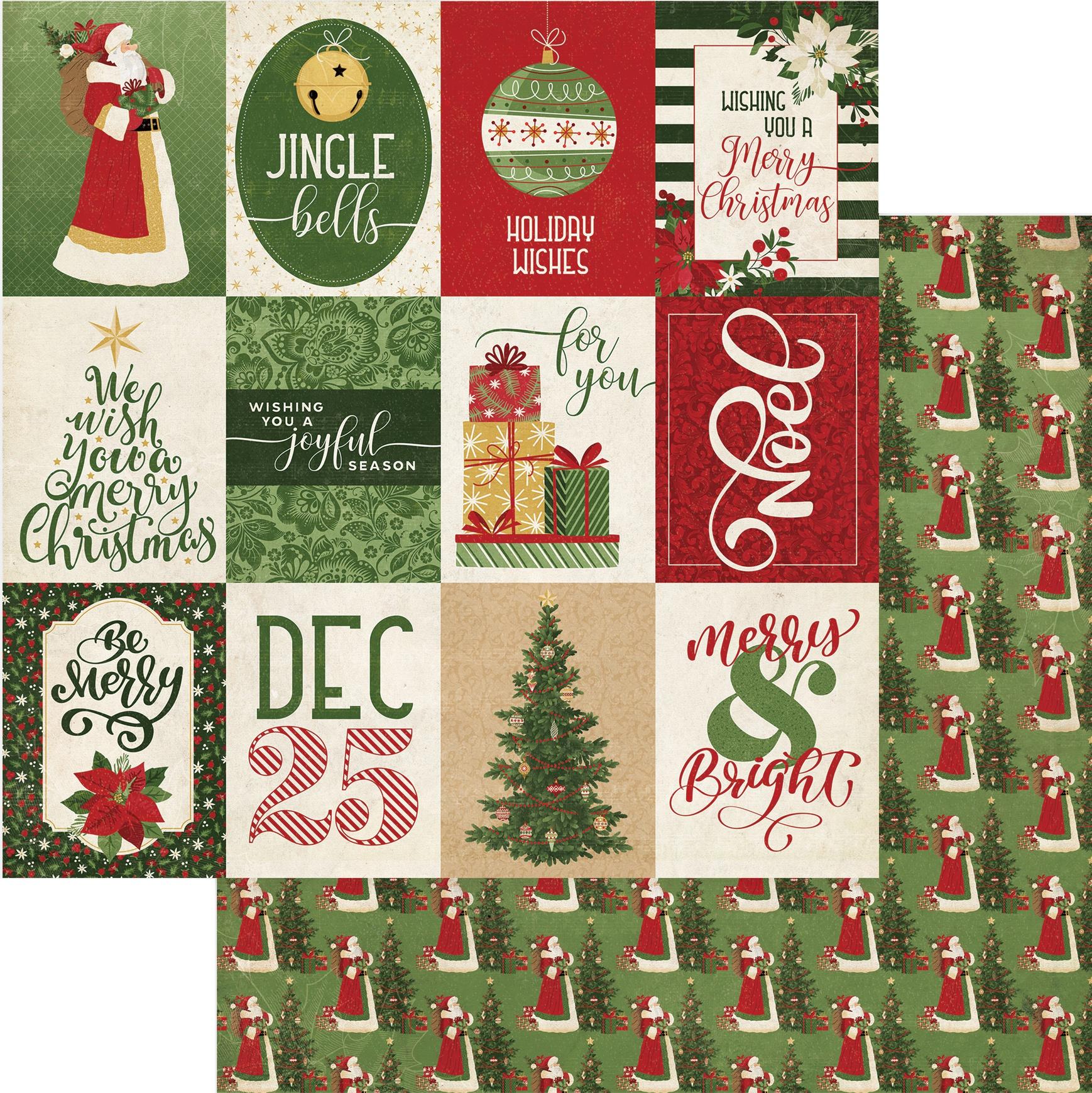 Christmas Memories Double-Sided Cardstock 12X12-Joyful Season