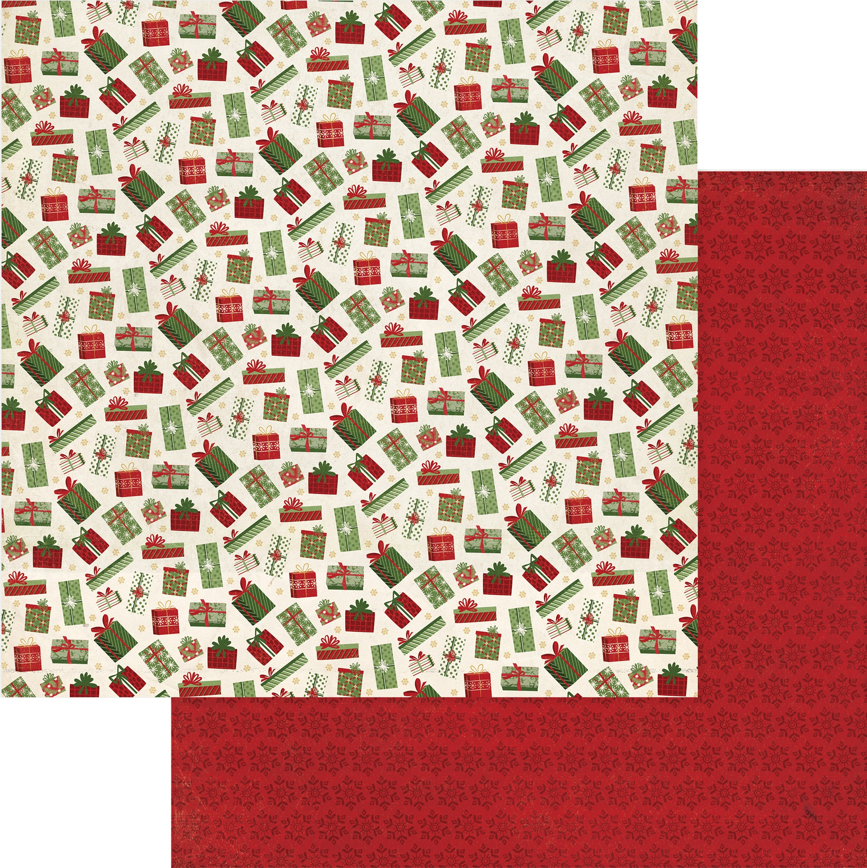 Christmas Memories Double-Sided Cardstock 12X12-Under The Tree