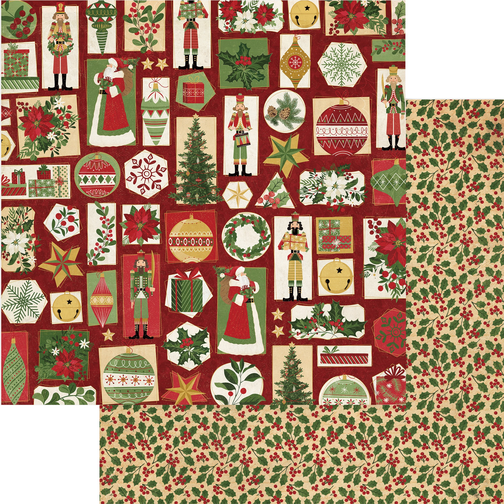 Christmas Memories Double-Sided Cardstock 12X12-'Tis The Season