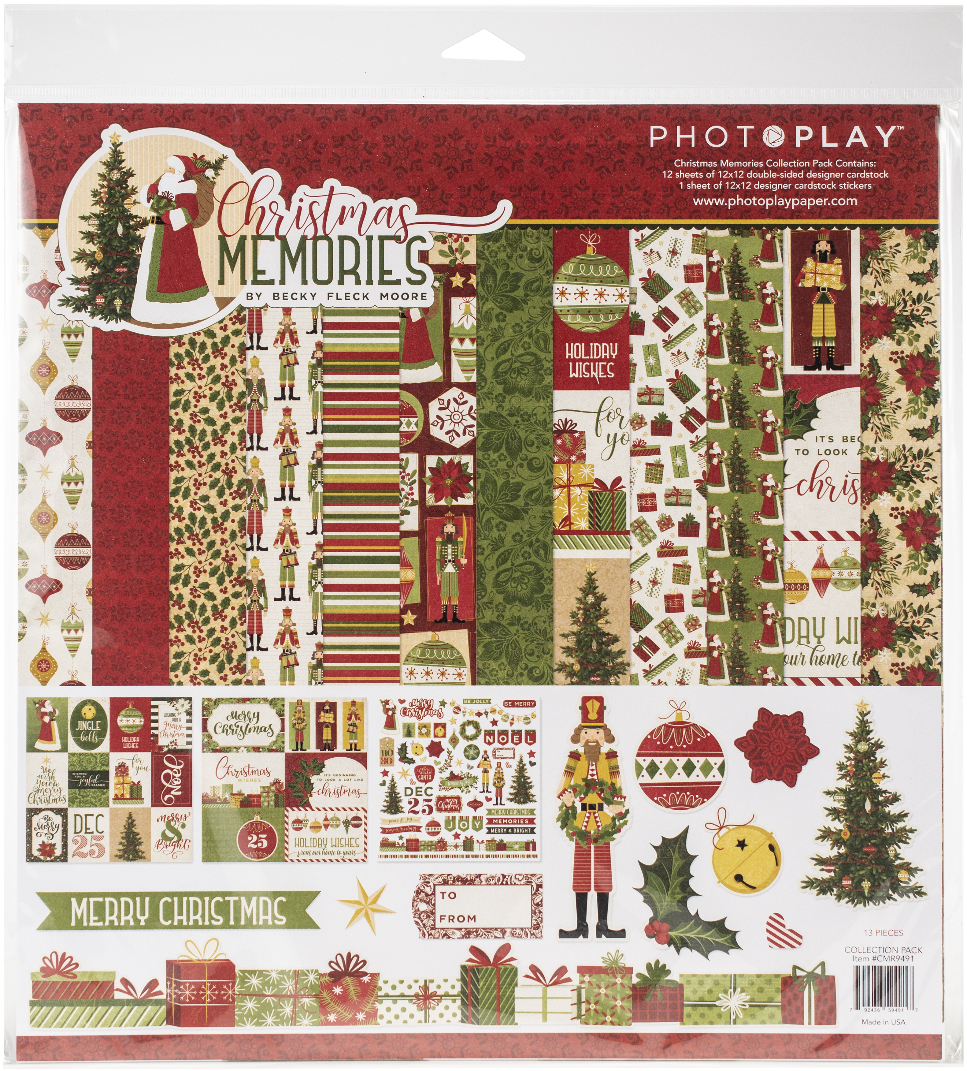 Christmas Memories Collection Pack 12X12 - Photo Play