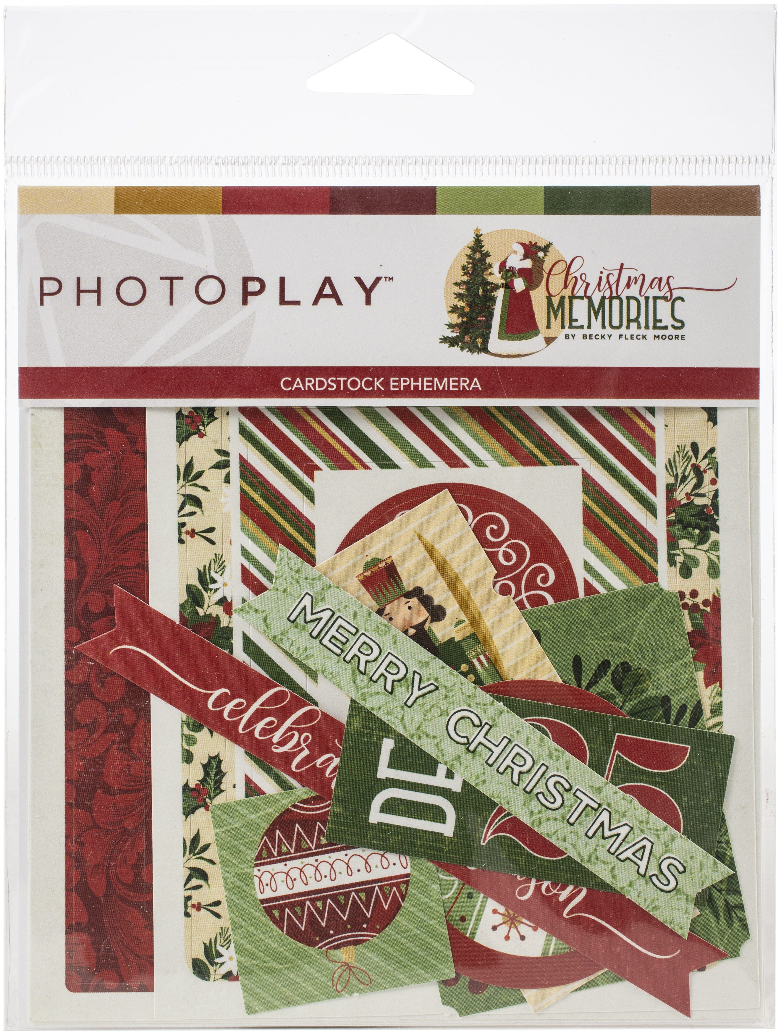 Christmas Memories Ephemera Cardstock Die-Cuts-