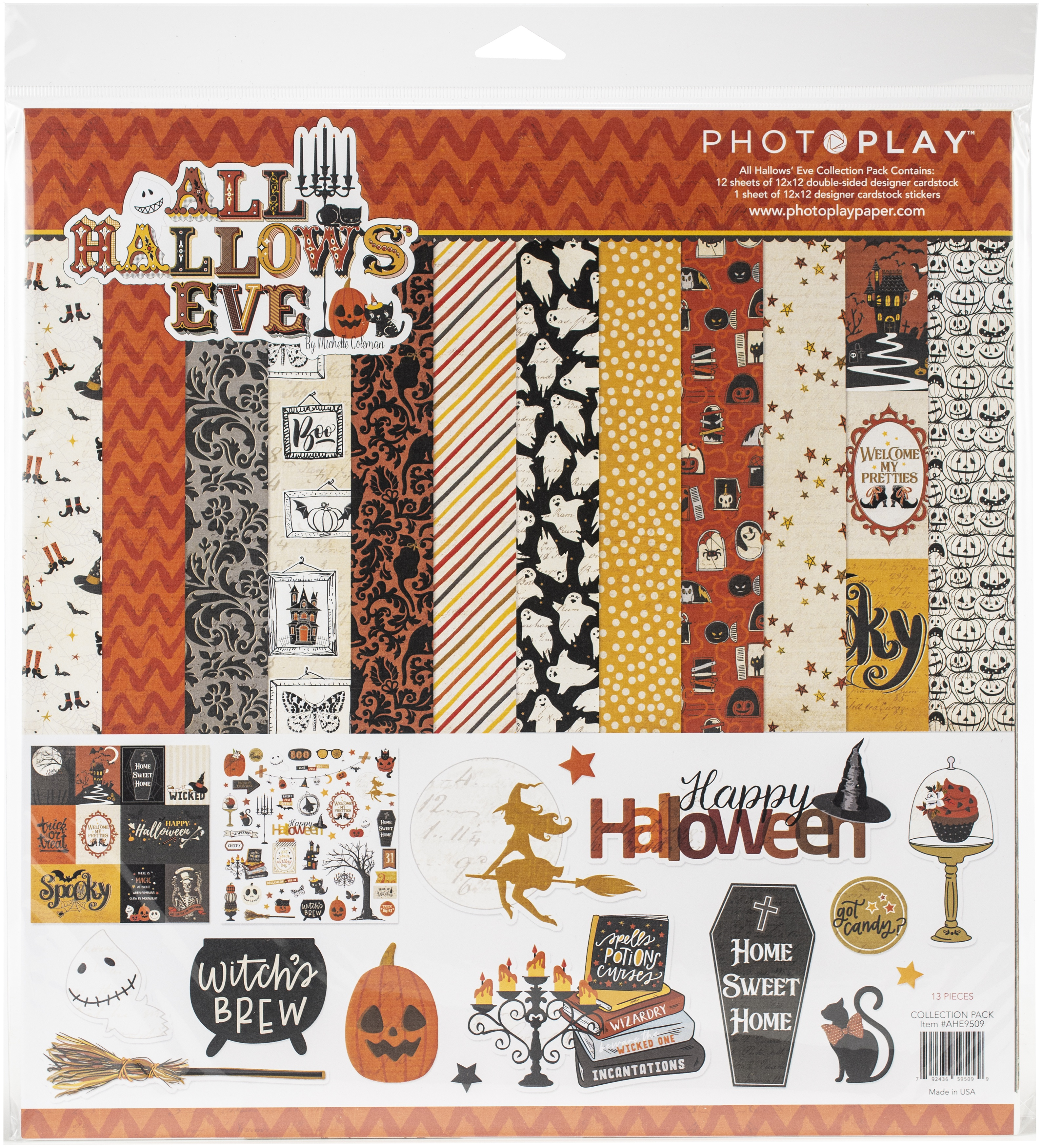 PhotoPlay Collection Pack 12X12 - All Hallows' Eve