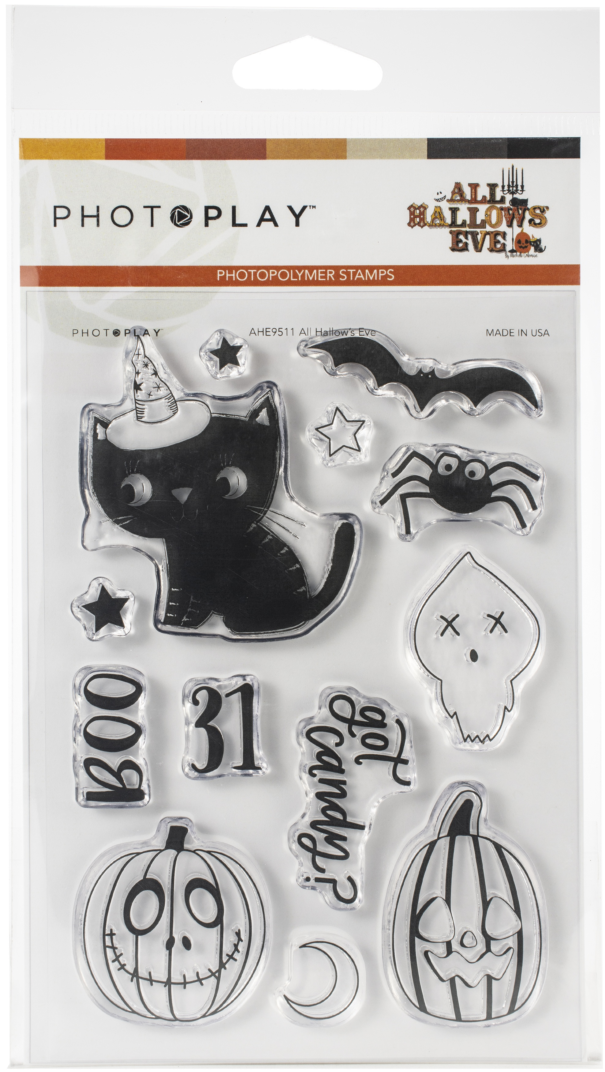 PhotoPlay Photopolymer Stamp-All Hallows' Eve
