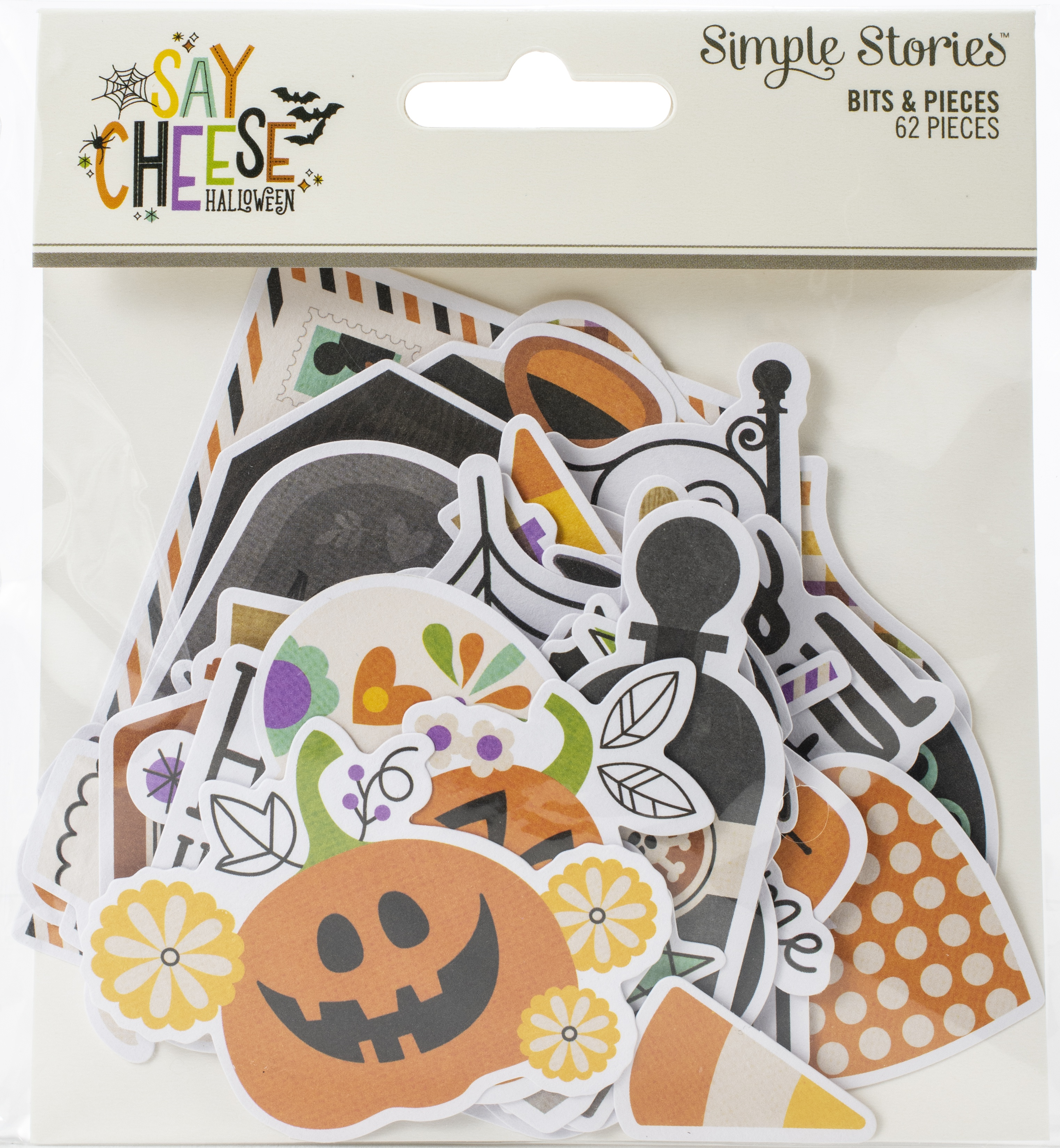 Say Cheese Halloween Bits & Pieces Die-Cuts 62/Pkg-