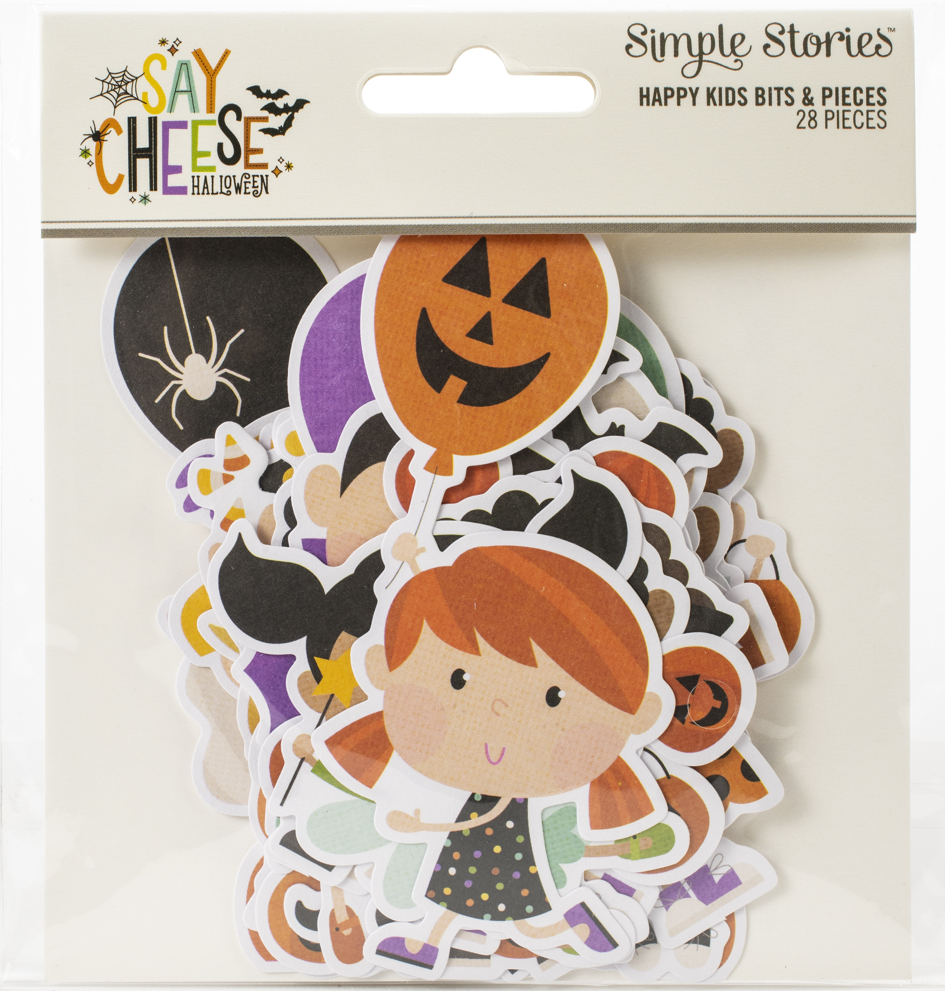 Say Cheese Halloween Tags & Frames Die-Cuts 28/Pkg-