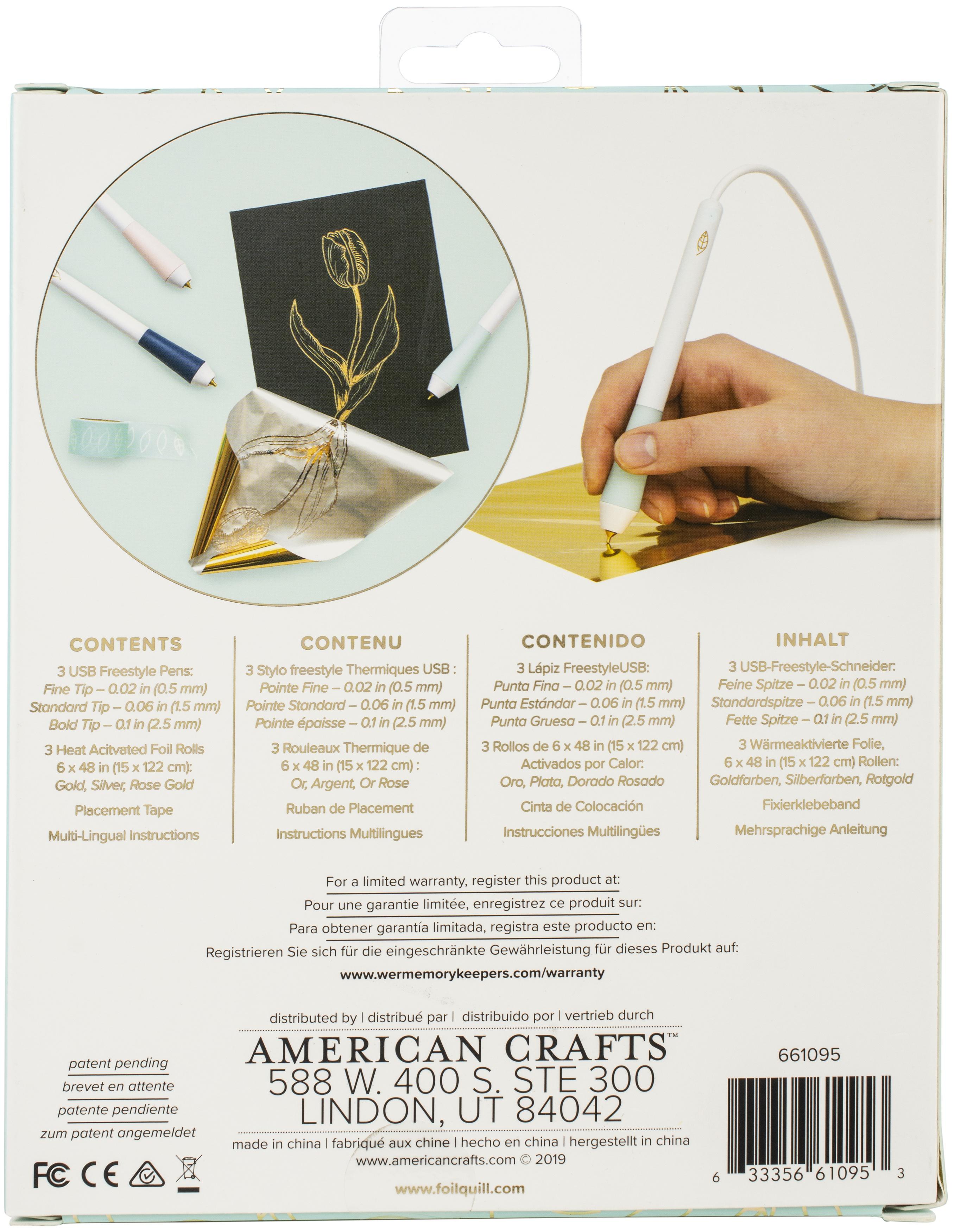 WeRMK Foil Quill Kit