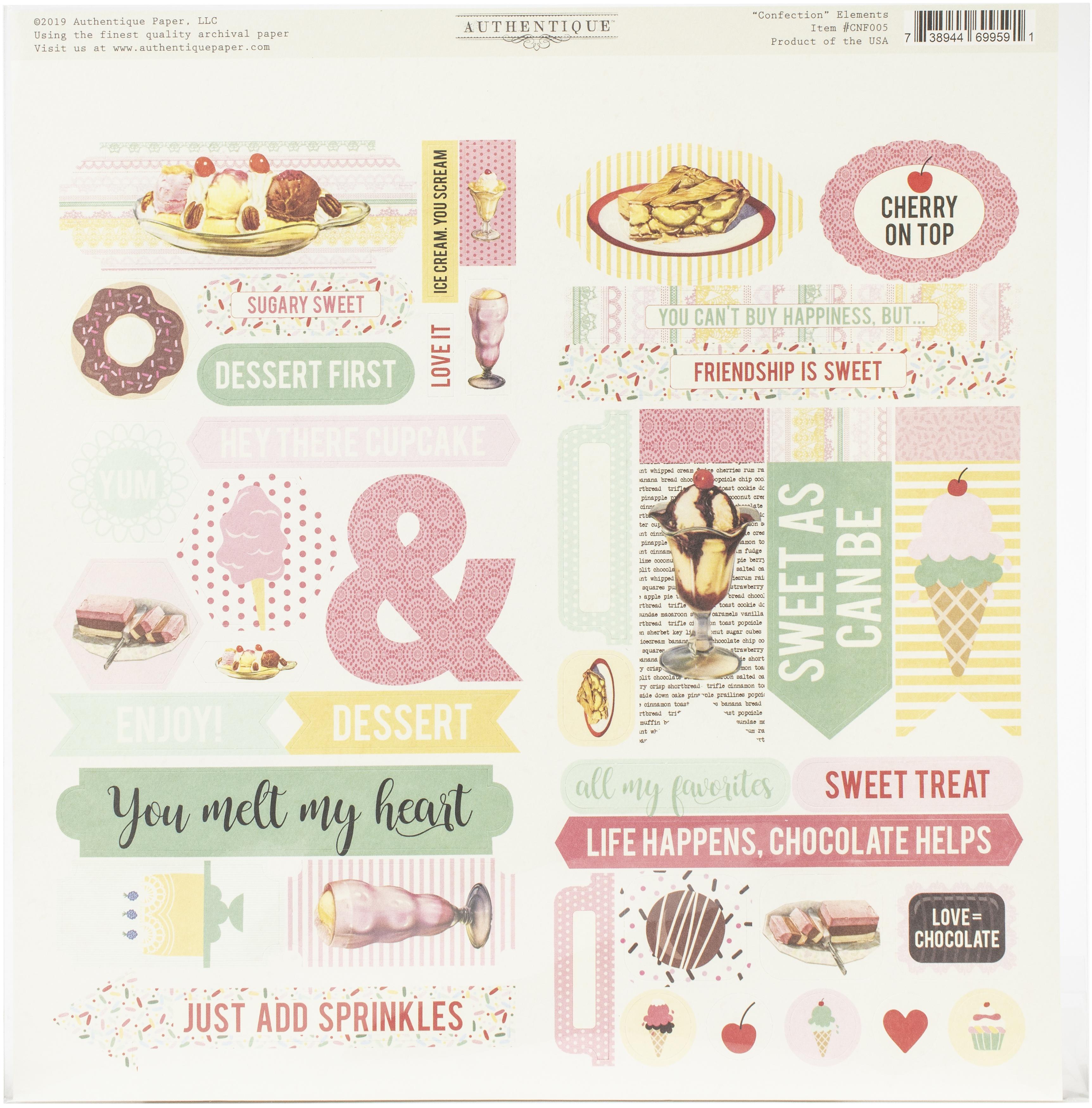 Confection Elements