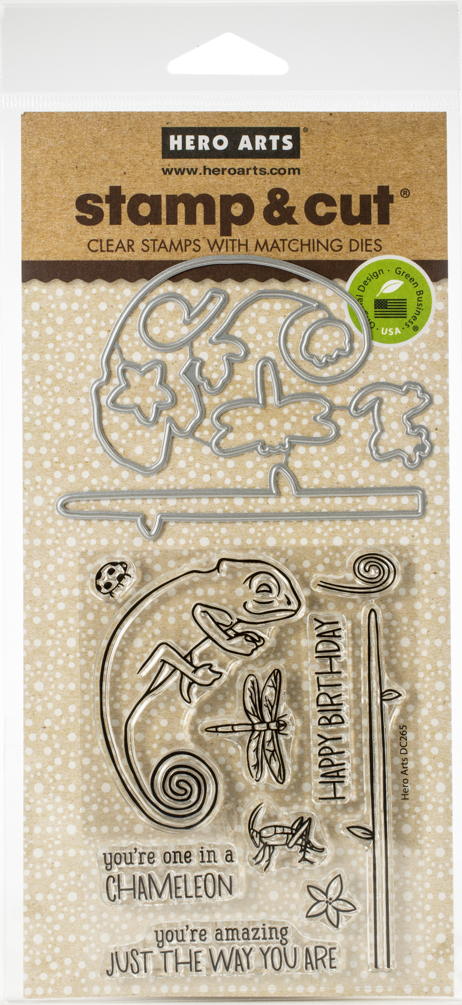 Hero Arts-Chameleon Stamp