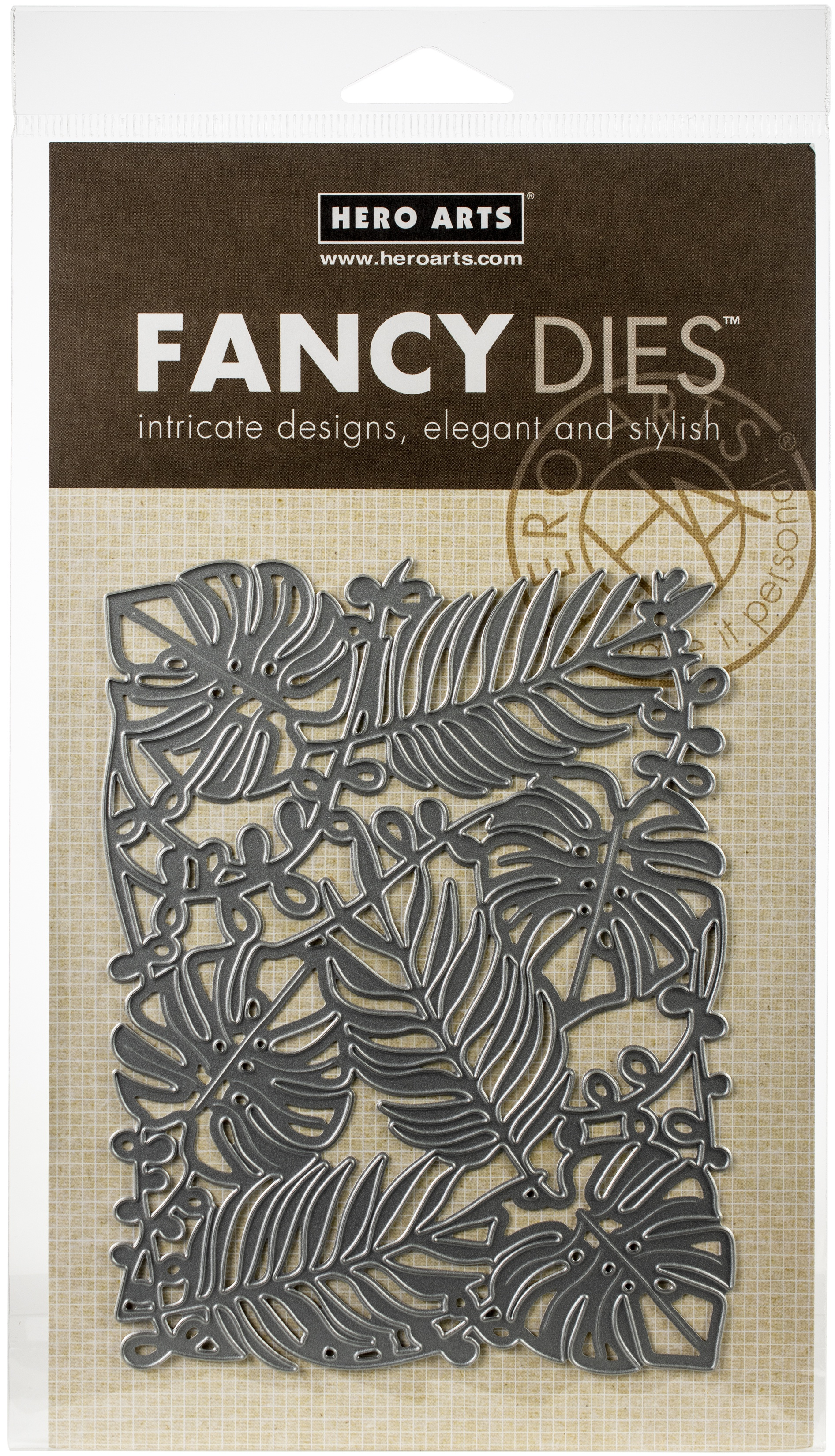 Hero Arts Fancy Dies-Leaves & Vines
