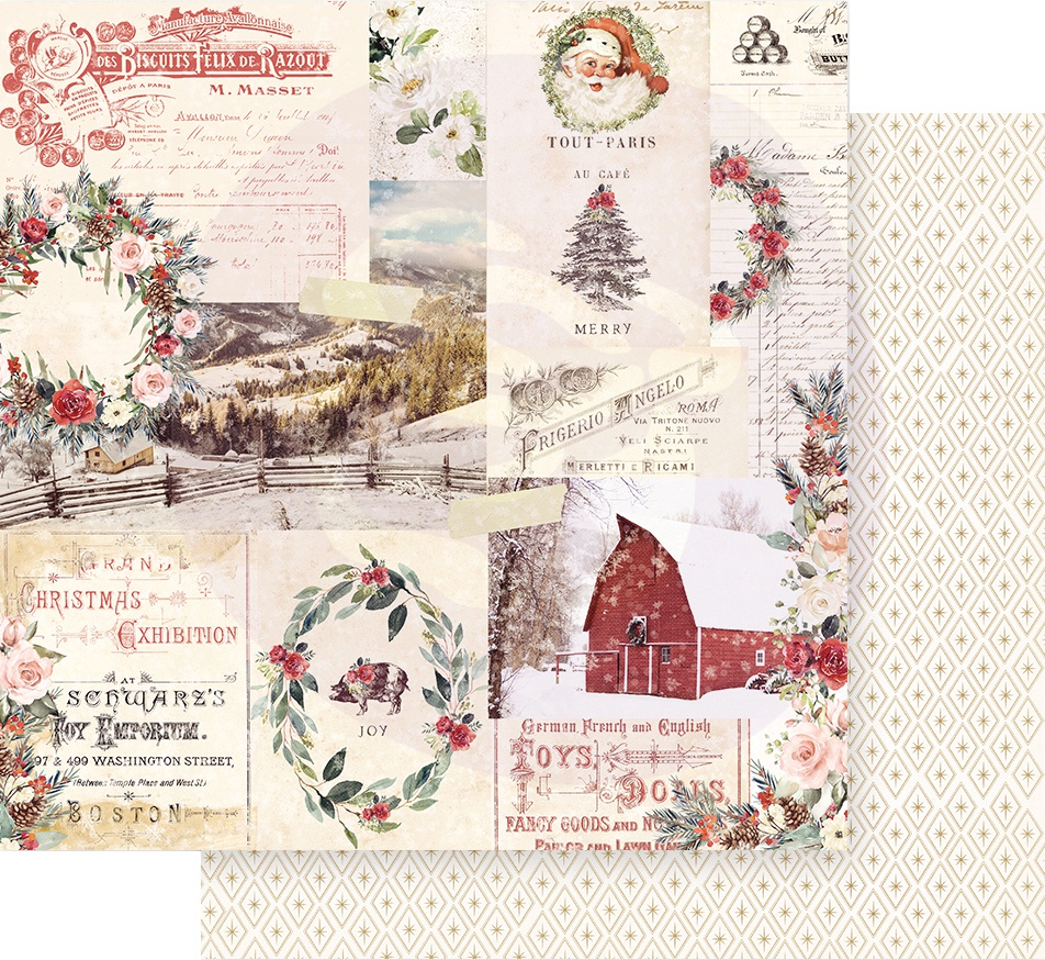 Christmas In The Country Double-Sided Cardstock 12X12-Christmas Joy