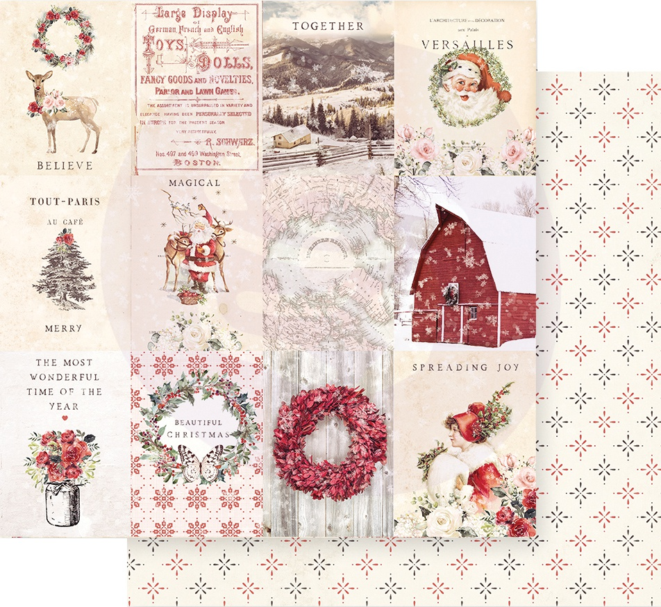 Christmas In The Country Double-Sided Cardstock 12X12-Spreading Christmas Magic