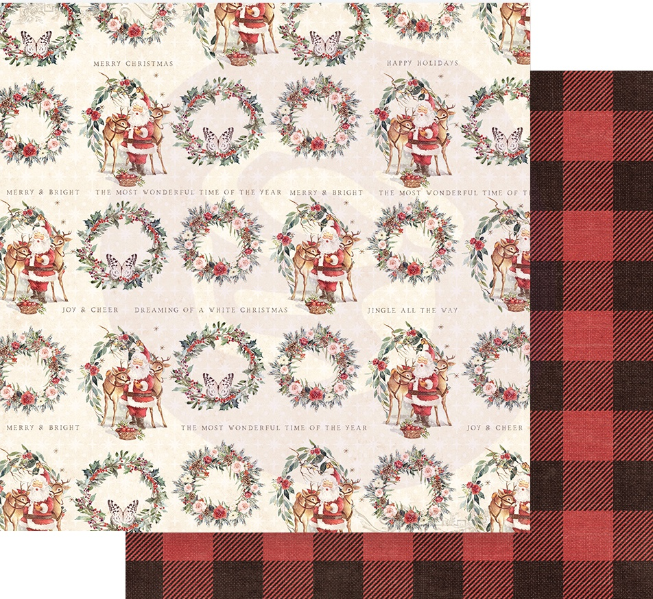 Christmas In The Country Double-Sided Cardstock 12X12-Most Wonderful Time Of T...