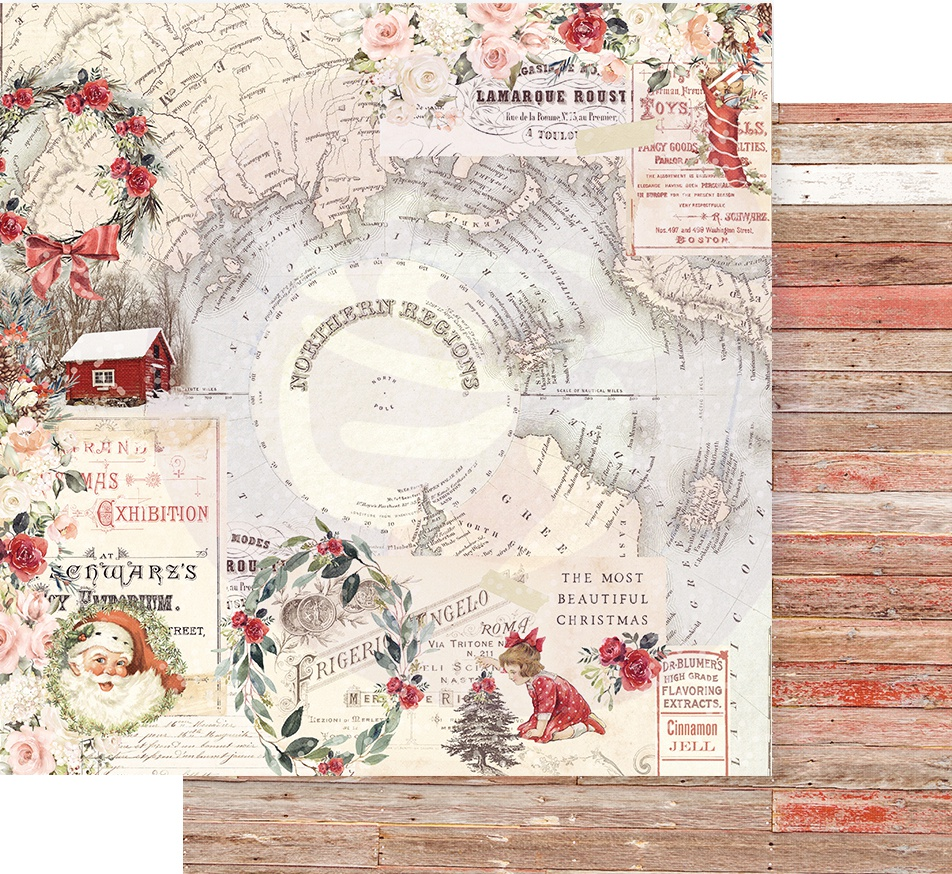 Christmas In The Country Double-Sided Cardstock 12X12-Northern Regions