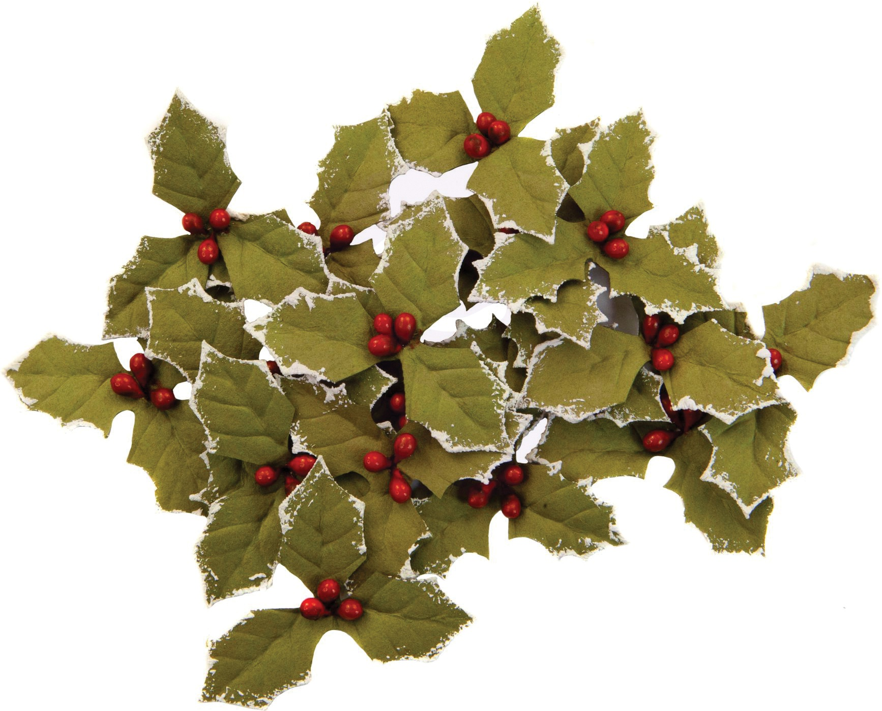 Prima Marketing Mulberry Paper Flowers  -Merry Twilight/Christmas In The Country