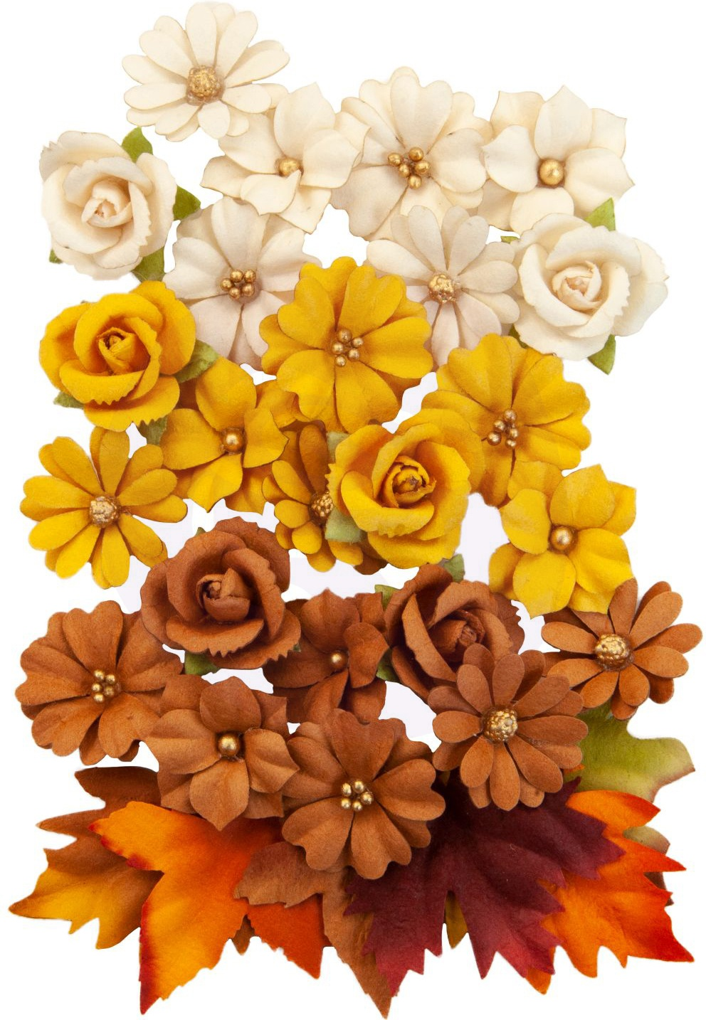 Prima - Autumn Sunset Flowers - Corn Mazes, 30/pkg