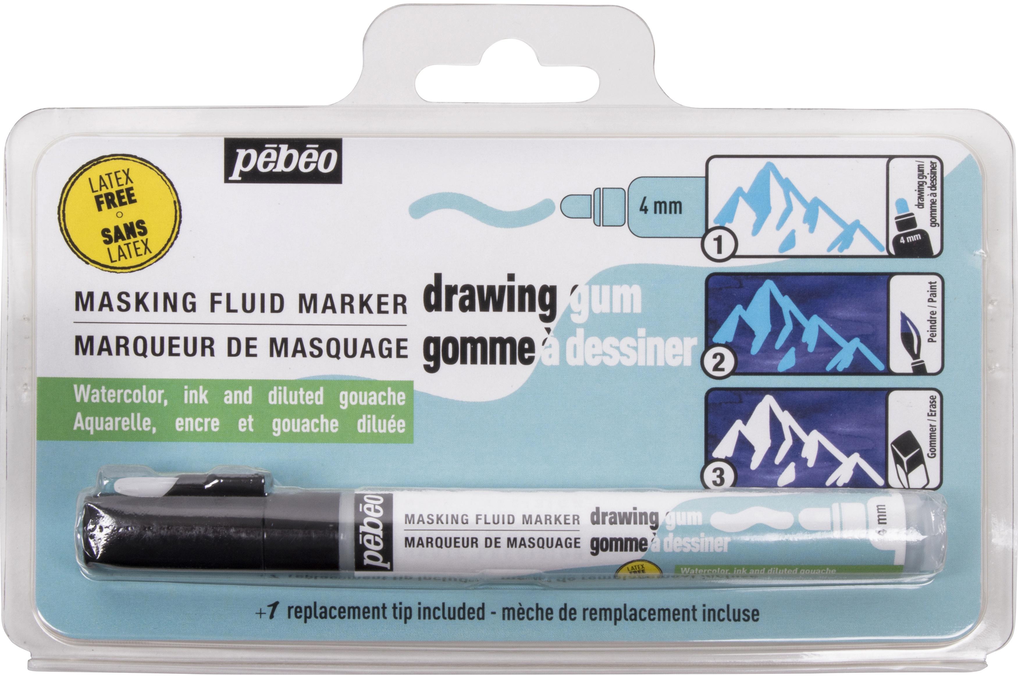 Drawing Gum Marker 4mm-Latex Free